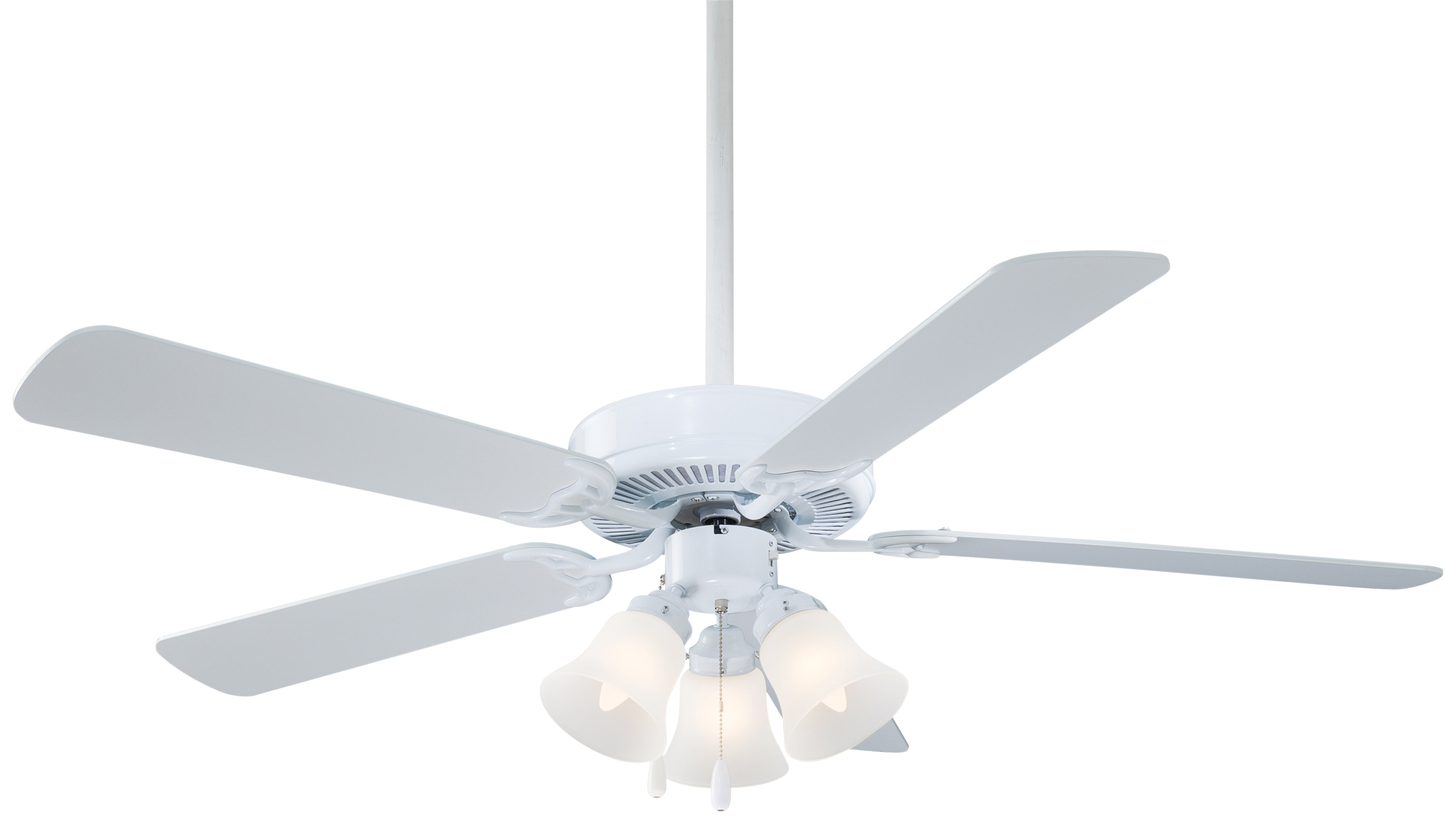 """Most Up To Date Contractor 5 Blade Ceiling Fans With Regard To 52"""" Contractor Uni Pack 5 Blade Led Ceiling Fan (View 5 of 20)"""