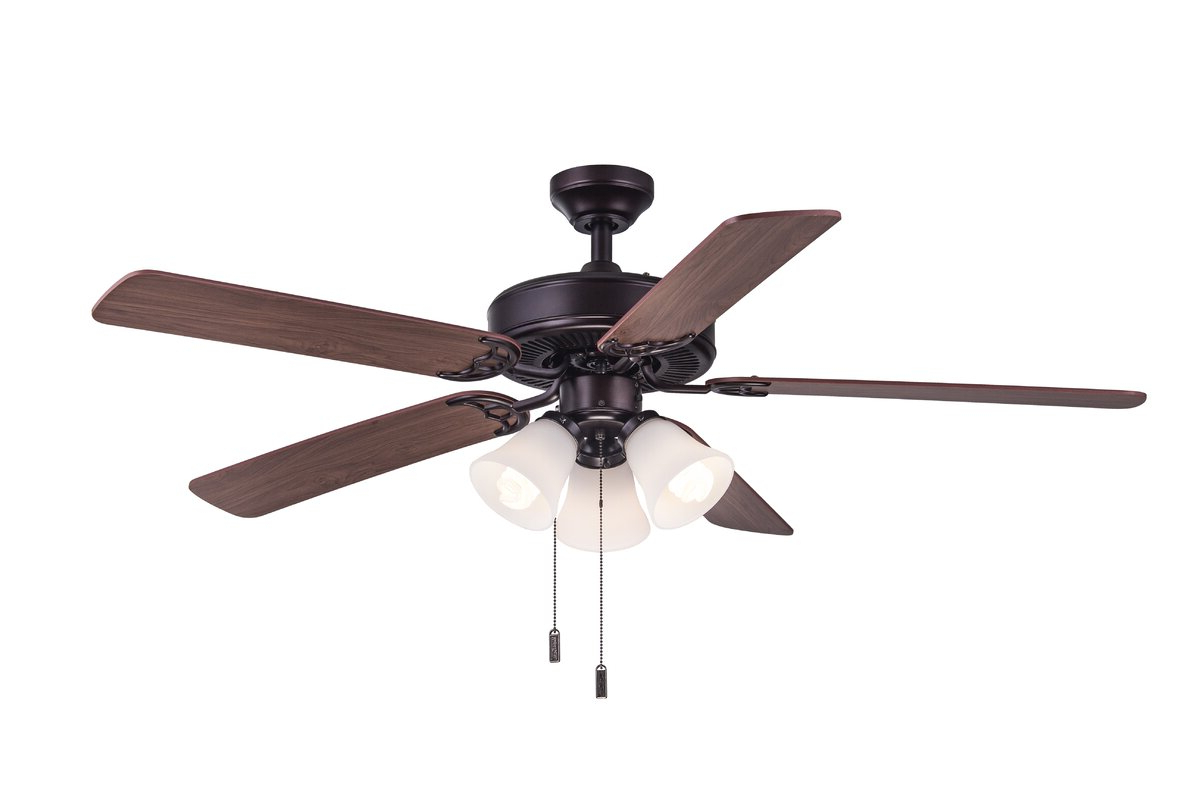 """Most Up To Date Marcoux 5 Blade Ceiling Fans Regarding Good Choice Charlton Home Manufacture 52"""" Philbrook 5 Blade (View 19 of 20)"""