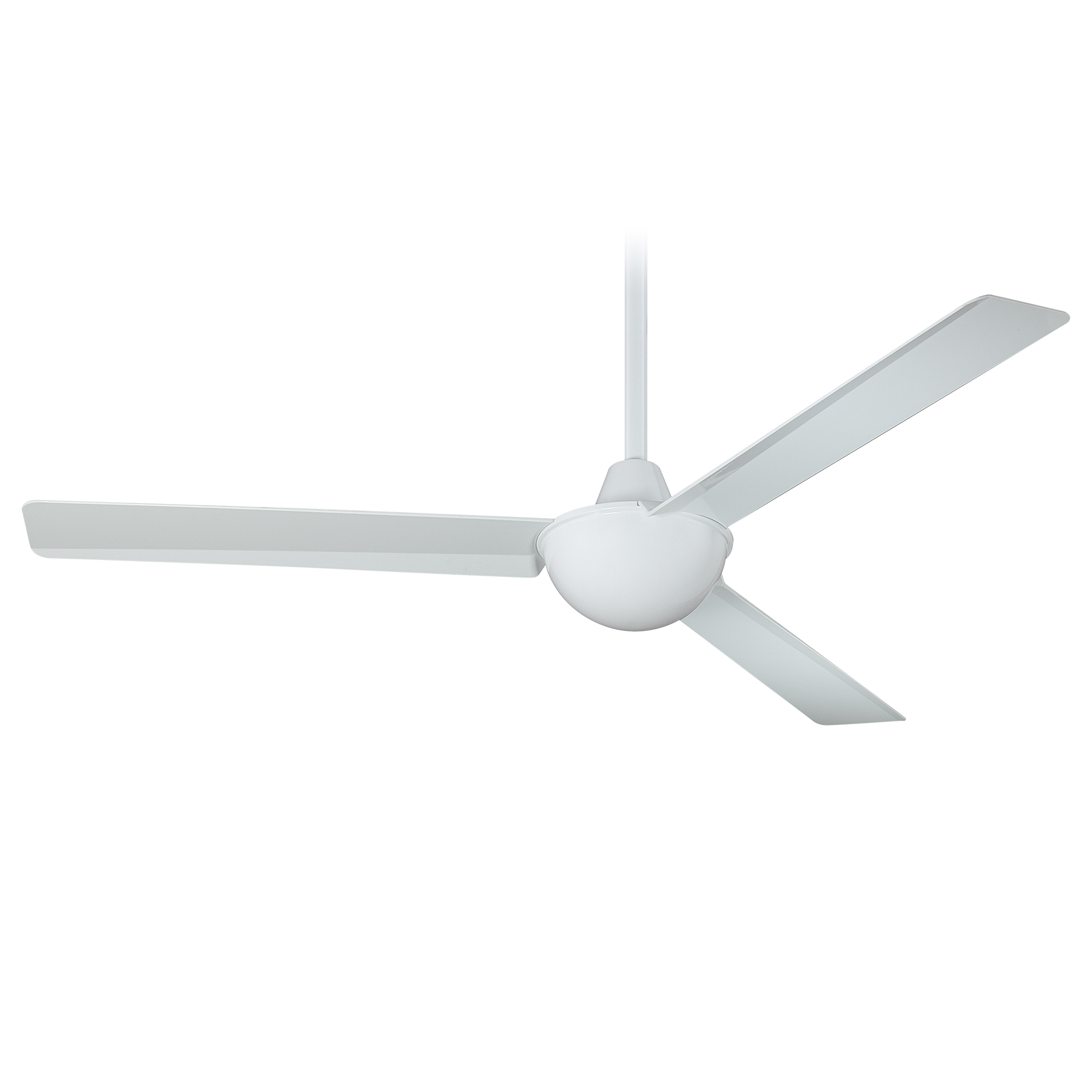Most Up To Date Minka Group® :: Brands :: Minka Aire® :: F833 Wh Within Kewl 3 Blade Ceiling Fans (View 8 of 20)