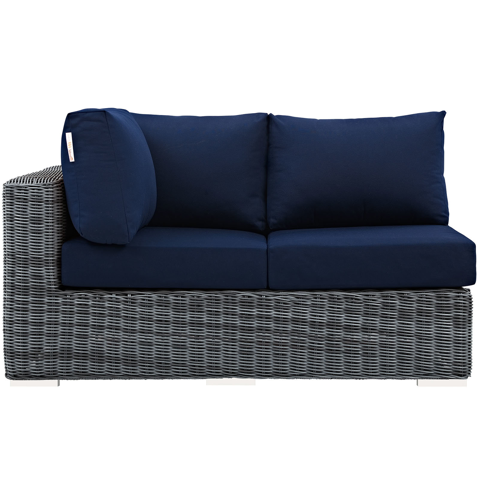 Most Up To Date Mullenax Outdoor Loveseats With Cushions In Keiran Loveseat With Cushions (View 4 of 20)