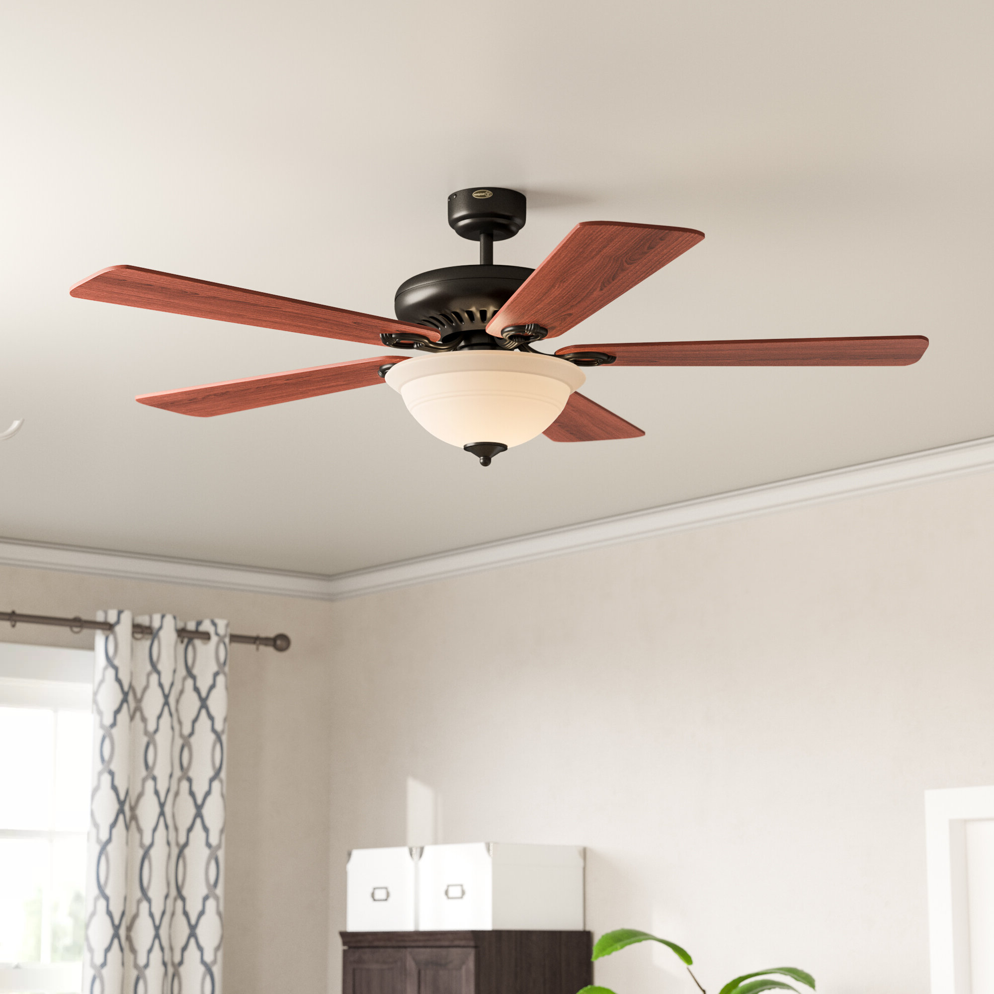 Most Up To Date Napoli 5 Blade Led Ceiling Fans Pertaining To 68 Inch Ceiling Fan You'll Love In (View 10 of 20)