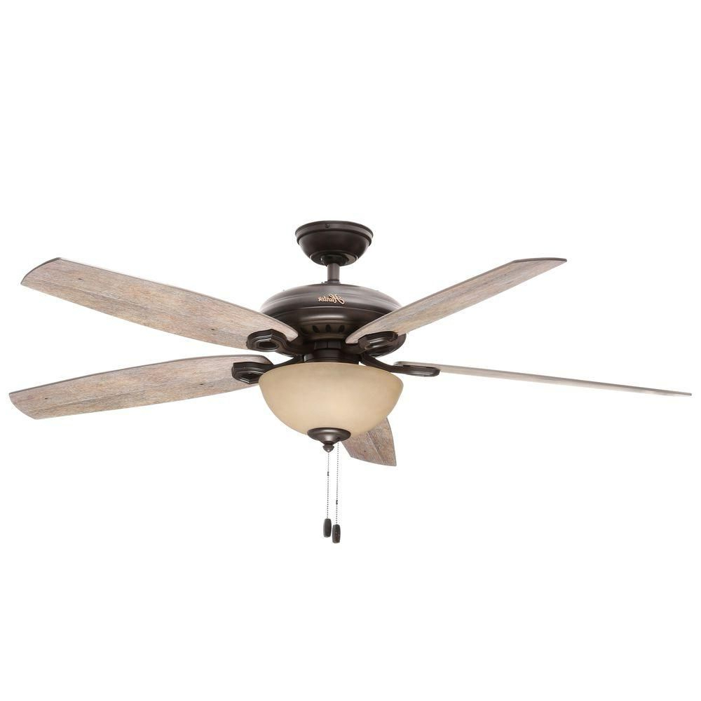 Most Up To Date Valerian 5 Blade Ceiling Fans Regarding Hunter Valerian 60 In (View 11 of 20)