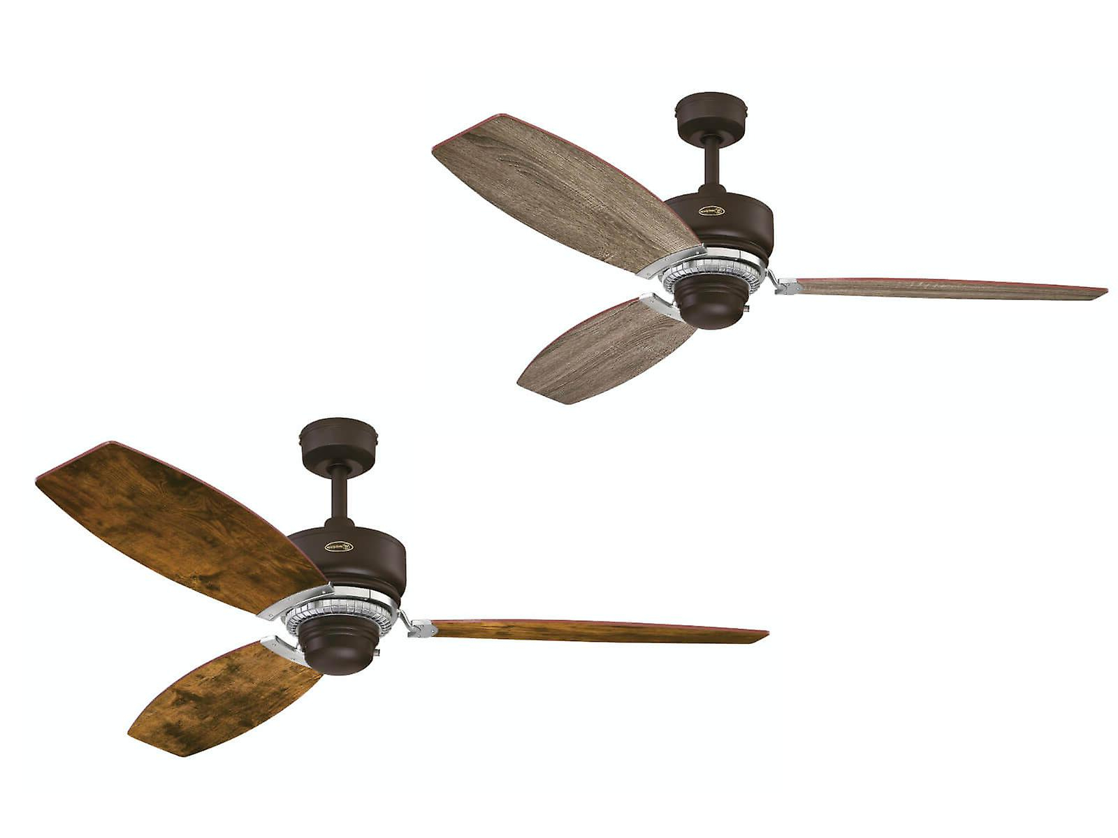 Most Up To Date Westinghouse Ceiling Fan Welford Bronze 137cm / 54 Intended For Sven 5 Blade Ceiling Fans (View 16 of 20)