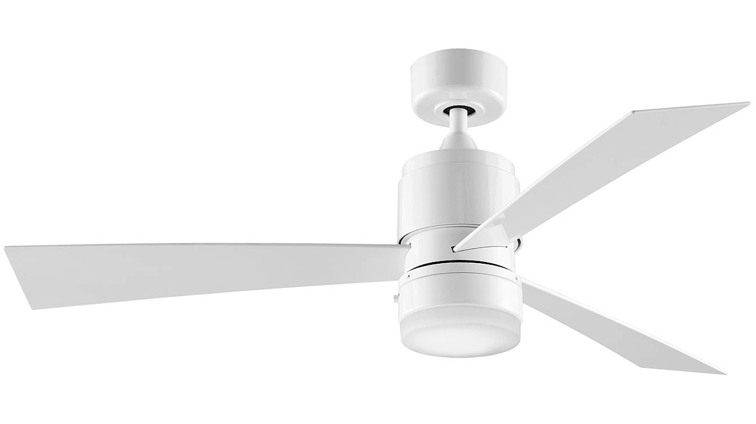 Most Up To Date Zonix 3 Blade Ceiling Fans Intended For Ceiling Fan Fanimation Zonix Wet Wh Γυαλιστερό Λευκό 132cm (View 8 of 20)