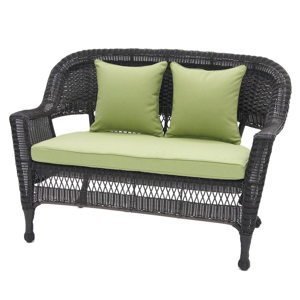 Mullenax Outdoor Loveseats With Cushions With Latest Alburg Loveseat With Cushions (View 12 of 20)
