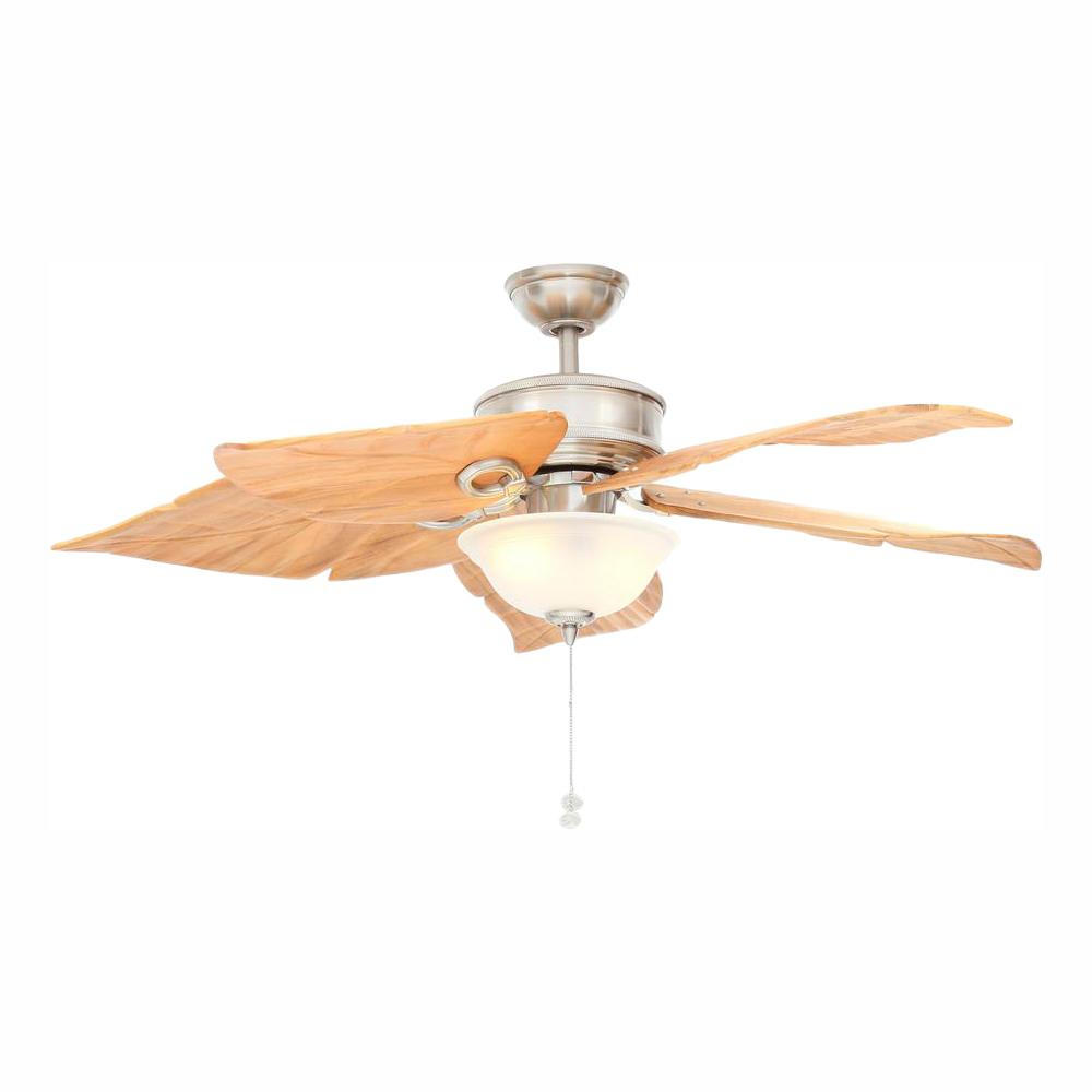 Napoli 5 Blade Led Ceiling Fans Pertaining To Well Known Hampton Bay Costa Mesa 56 In (View 13 of 20)