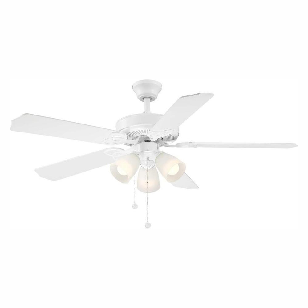 Newest Alyce 3 Blade Led Ceiling Fans With Remote Control Throughout Brookhurst 52 In (View 14 of 20)