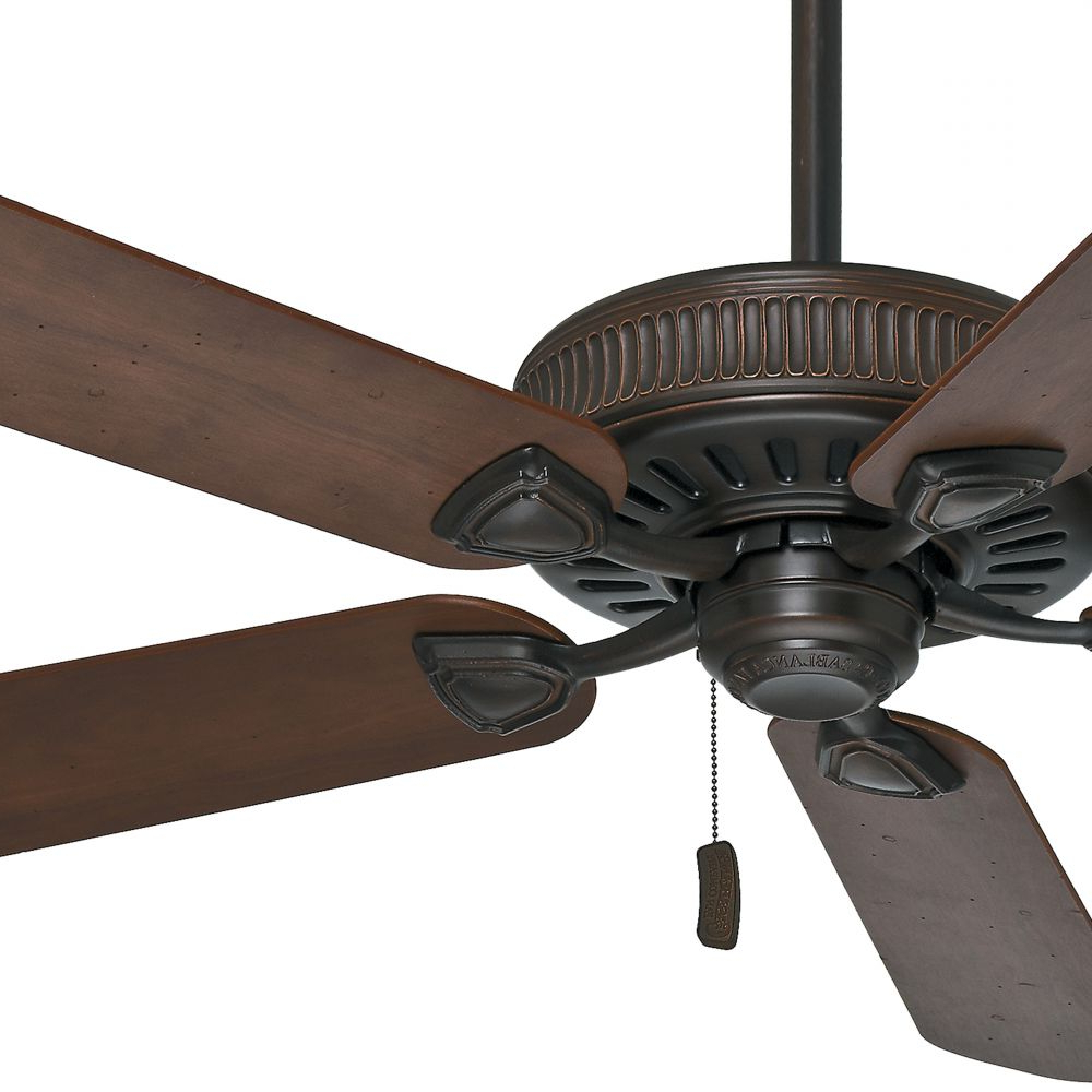Newest Casablanca Fan 54 Inch Brushed Cocoa Ceiling Fan, 5 Blade (certified Refurbished) For Timeless 5 Blade Ceiling Fans (View 10 of 20)