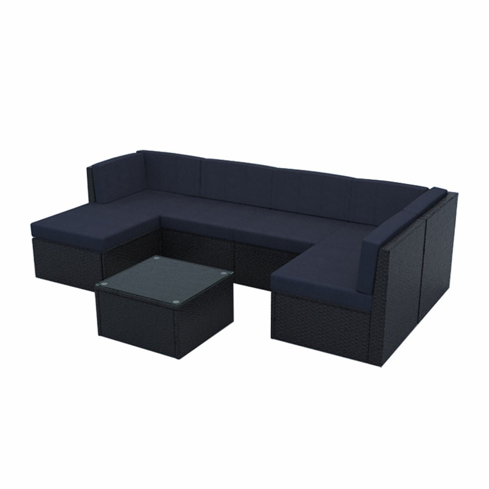Newest Furniture & Appliances For Sale Online Belton 7 Piece Pe Within Belton Patio Sofas With Cushions (View 19 of 25)