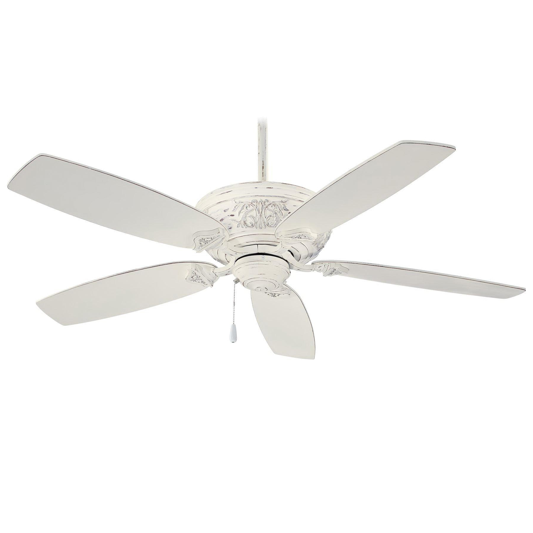 Newest Minka Aire F659 Pbl Interior Ceiling Fan 54 Inch 5 Blade Provencal Blanc Classica Intended For Classica 5 Blade Ceiling Fans (View 8 of 20)
