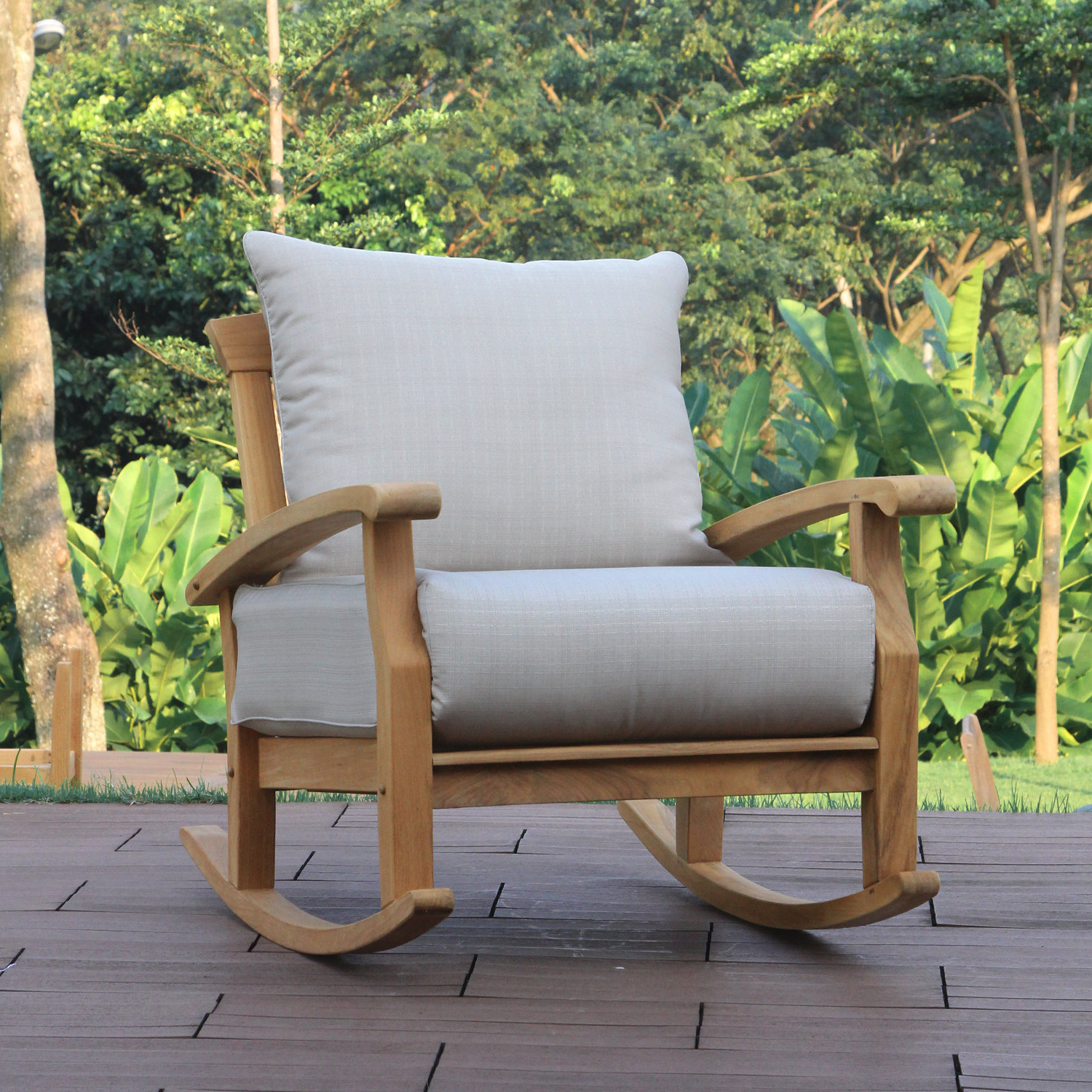 Newest Roswell Ga Patio Furniture And Birch Lane™ Heritage Within Summerton Teak Patio Sofas With Cushions (View 20 of 20)