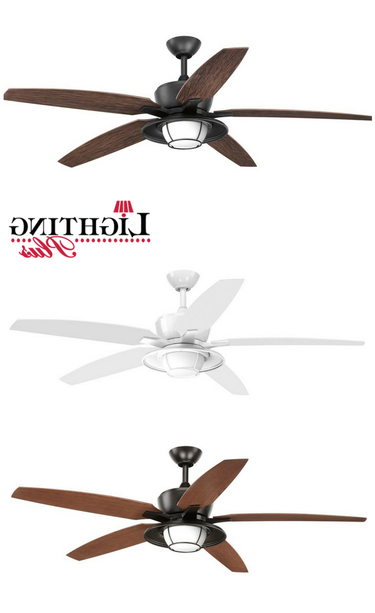 "Newest This Five Blade 60"" Montague Ceiling Fan Features An All In Southern Breeze 5 Blade Ceiling Fans (Gallery 15 of 20)"