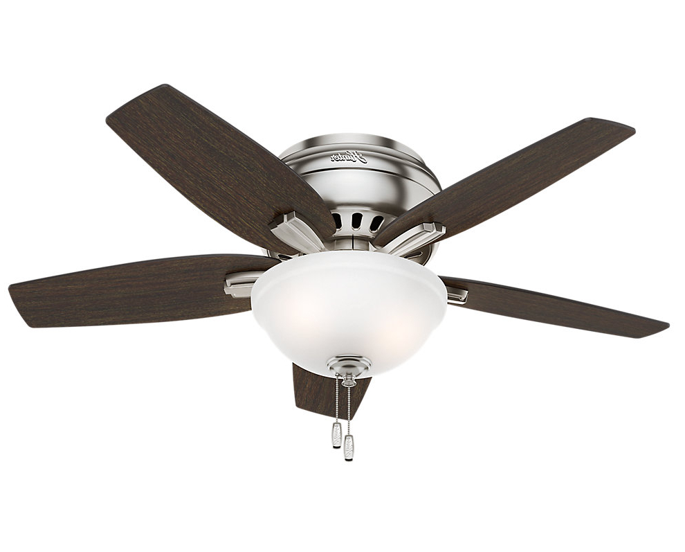 "Newsome 5 Blade Ceiling Fans For Famous 42"" Newsome 5 Blade Ceiling Fan, Light Kit Included (View 12 of 20)"