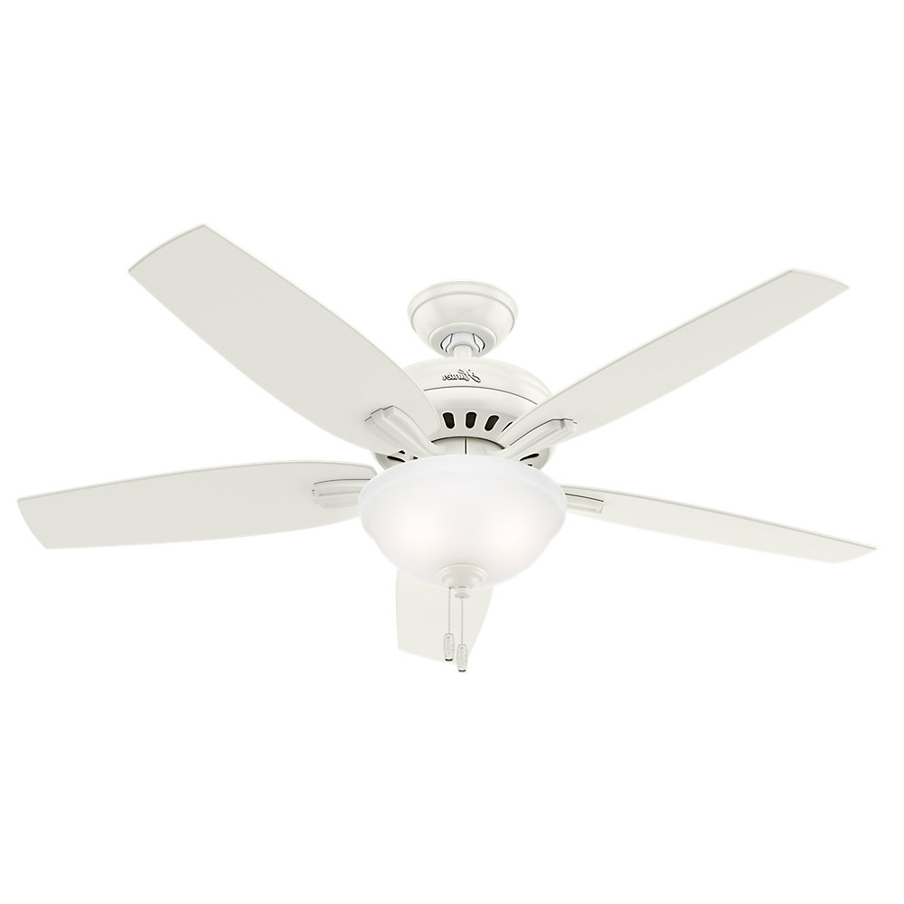 "Newsome 5 Blade Ceiling Fans Pertaining To Famous 52"" Newsome 5 Blade Ceiling Fan (View 15 of 20)"
