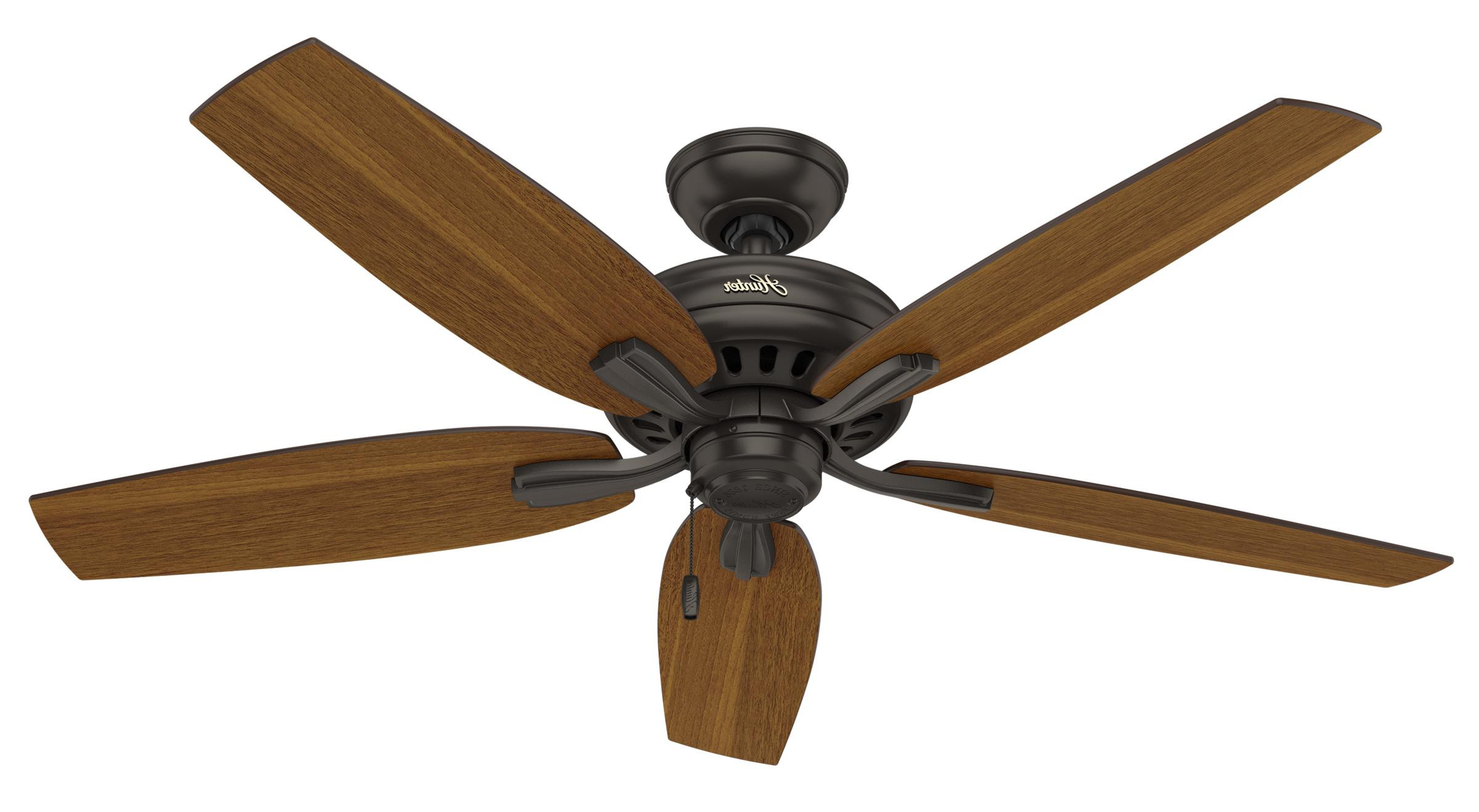 Newsome Low Profile 5 Blade Ceiling Fans In Widely Used Hunter Newsome 52 Outdoor Damp Ceiling Fan Model  (View 17 of 20)