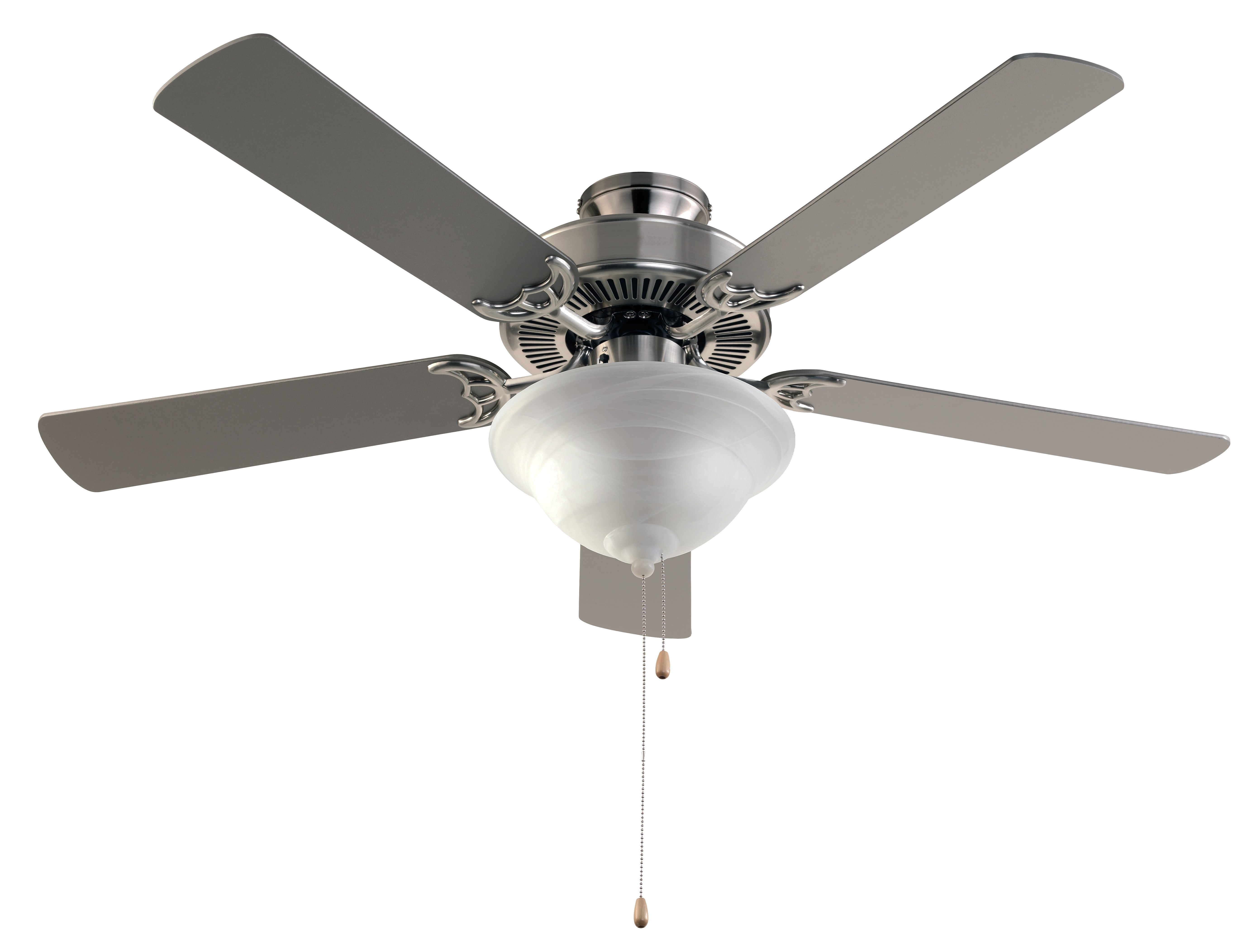 Njie Caged Crystal 5 Blade Ceiling Fans Regarding Current Hamlett 5 Blade Ceiling Fan, Light Kit Included (View 19 of 20)