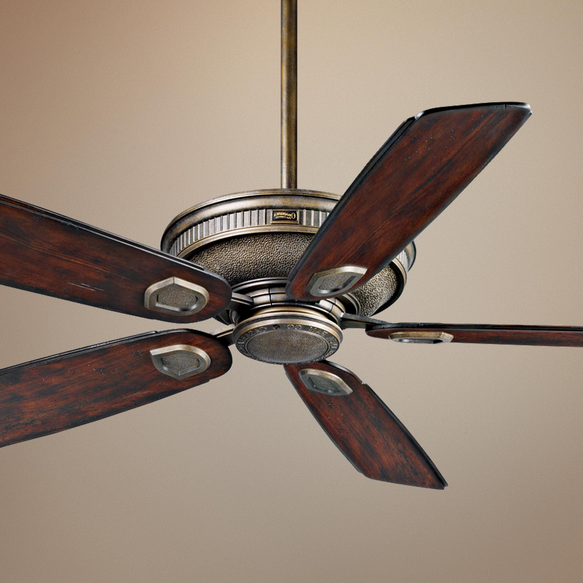 """Norah 5 Blade Ceiling Fans Intended For Most Up To Date 60"""" Casablanca Heritage Aged Bronze Outdoor Ceiling Fan (View 10 of 20)"""