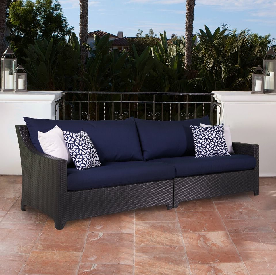 Featured Photo of Northridge Patio Sofas with Sunbrella Cushions