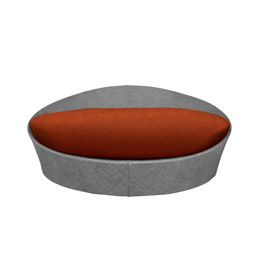 Olu Bamboo Large Round Patio Daybeds With Cushions Pertaining To Current Daybed Round Cushion (View 10 of 20)