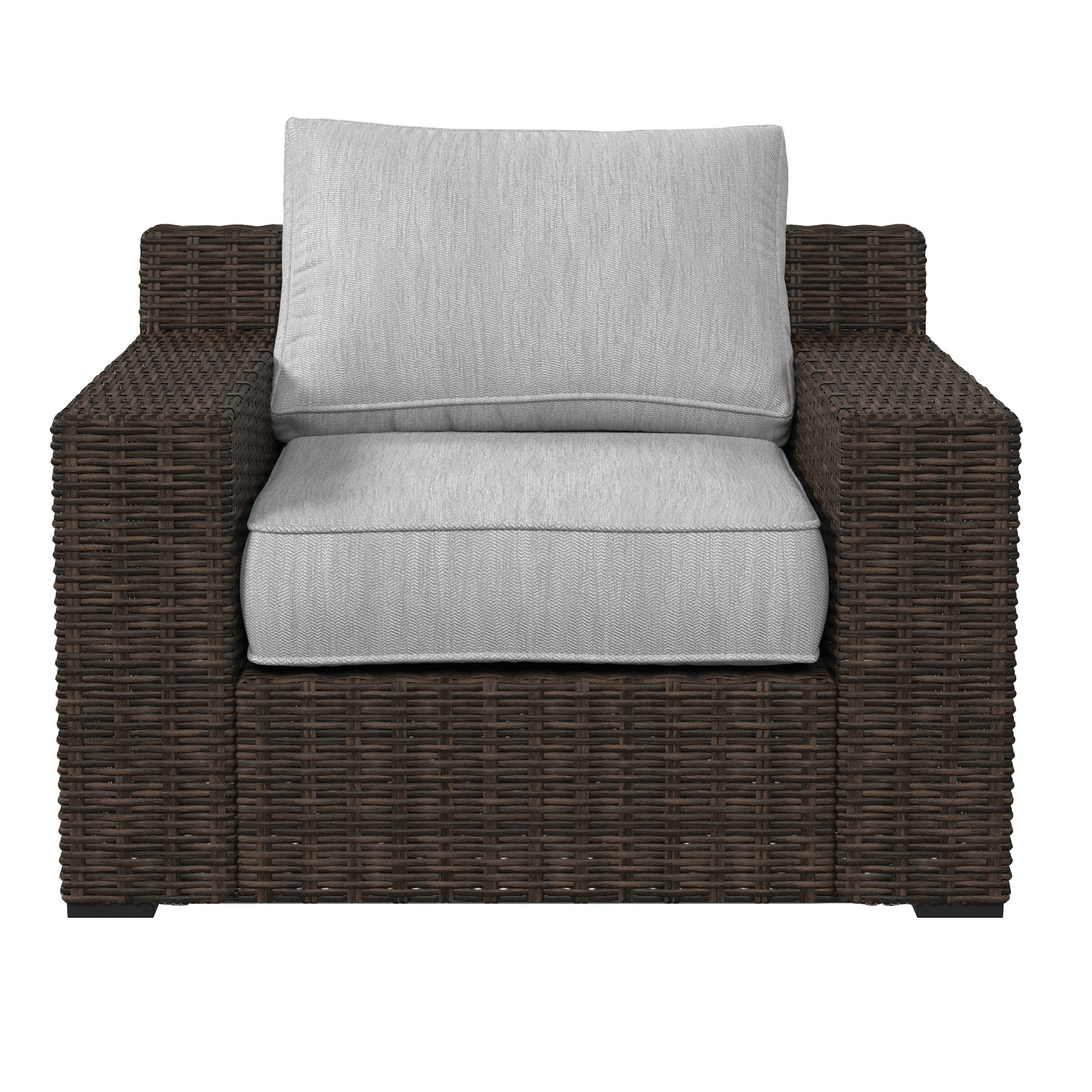 Oreland Patio Chair With Cushions Throughout Widely Used Oreland Patio Sofas With Cushions (View 7 of 20)