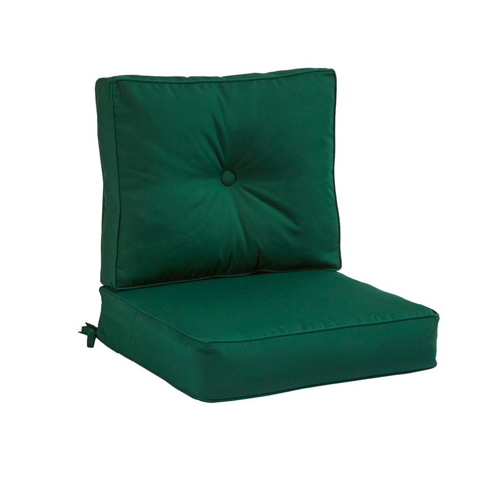 Outdoor Sofa Cushions – Outdoor Cushions – The Home Depot For Well Known Camak Patio Loveseats With Cushions (View 18 of 20)