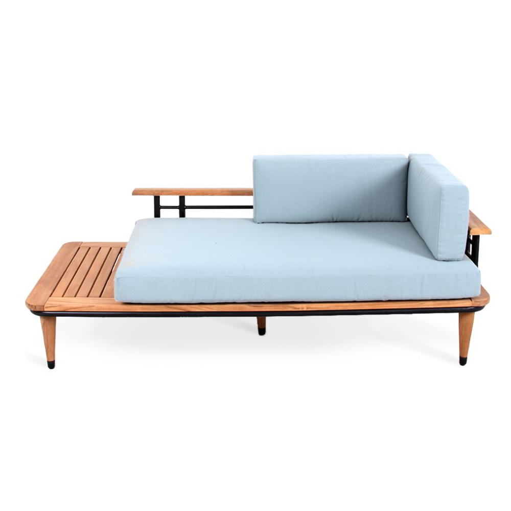 Outdoor Teak Daybed – Budapestsightseeing Pertaining To Preferred Ellanti Teak Patio Daybeds With Cushions (View 14 of 20)