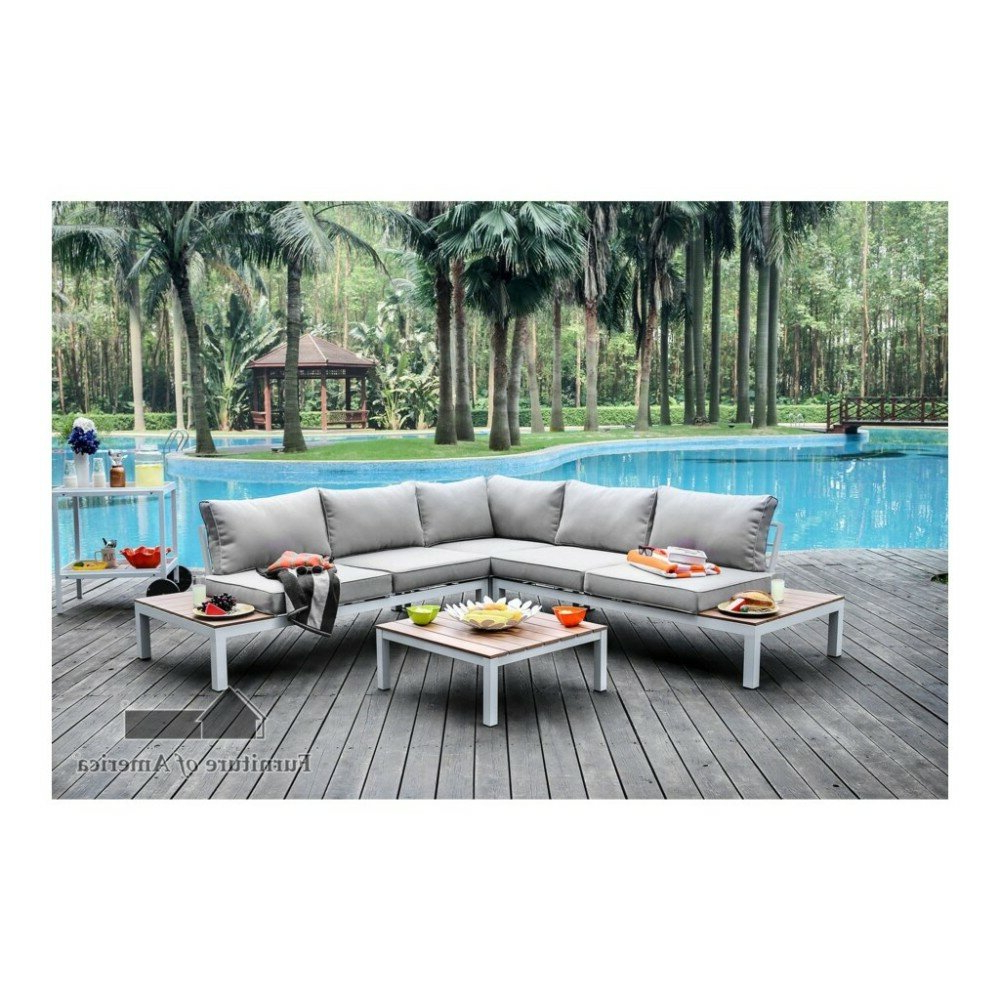 Paloma Sectionals With Cushions Inside 2019 Winona Patio Sectional With Cushions (View 15 of 20)