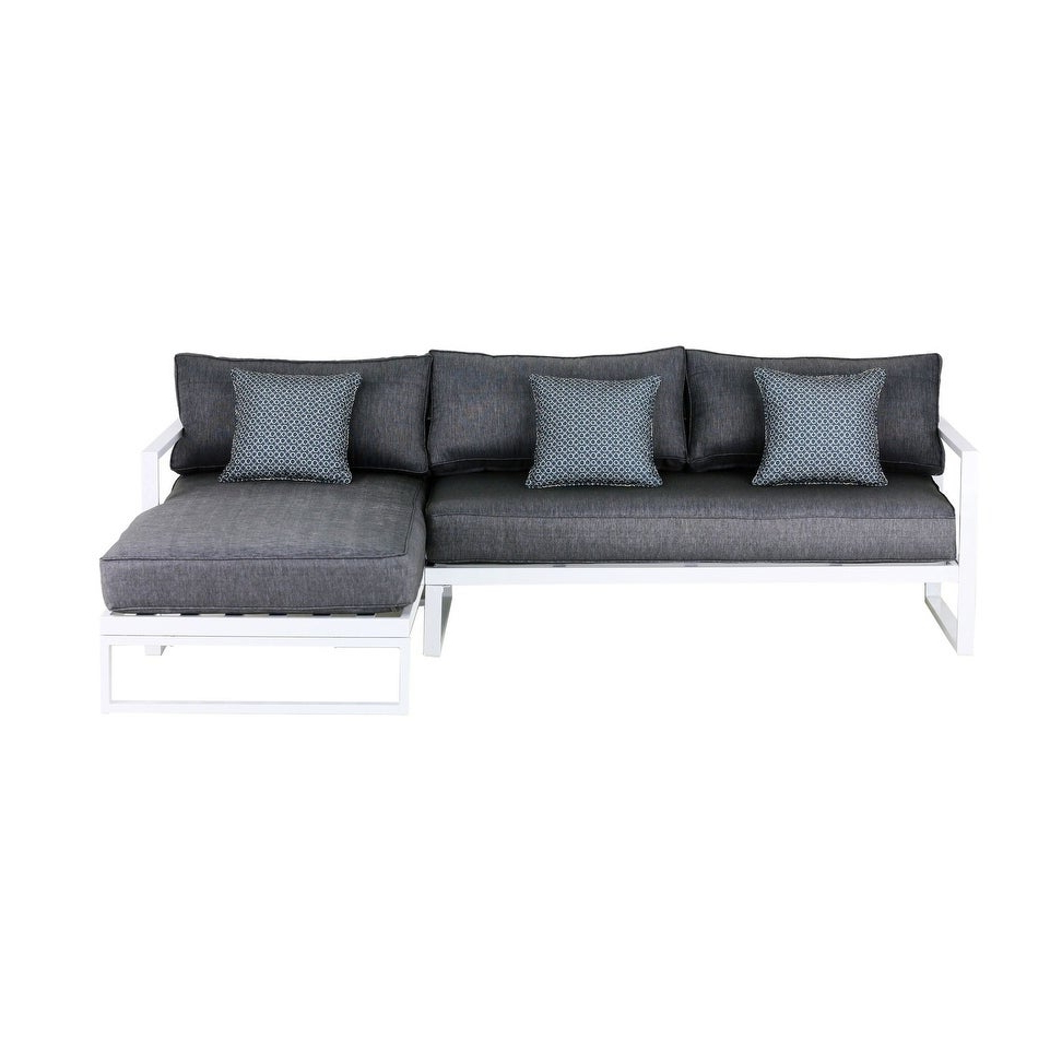 Paloma Sectionals With Cushions With Most Up To Date Elle Decor Paloma Outdoor Sectional (View 17 of 20)