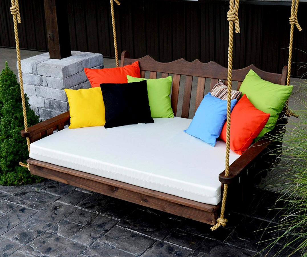 Patio Day Bed Find Olu Bamboo Large Round Daybed With Pertaining To Popular Olu Bamboo Large Round Patio Daybeds With Cushions (View 9 of 20)
