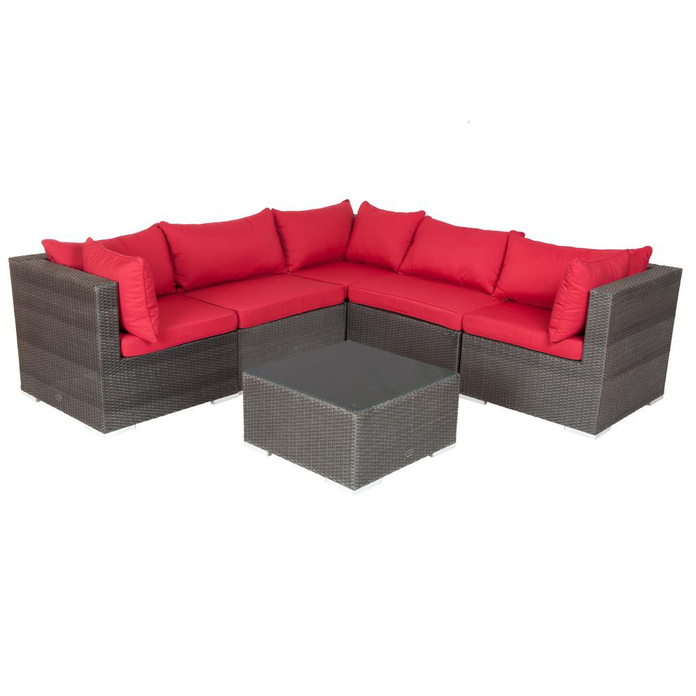 Patio Sofa Sets (View 9 of 20)