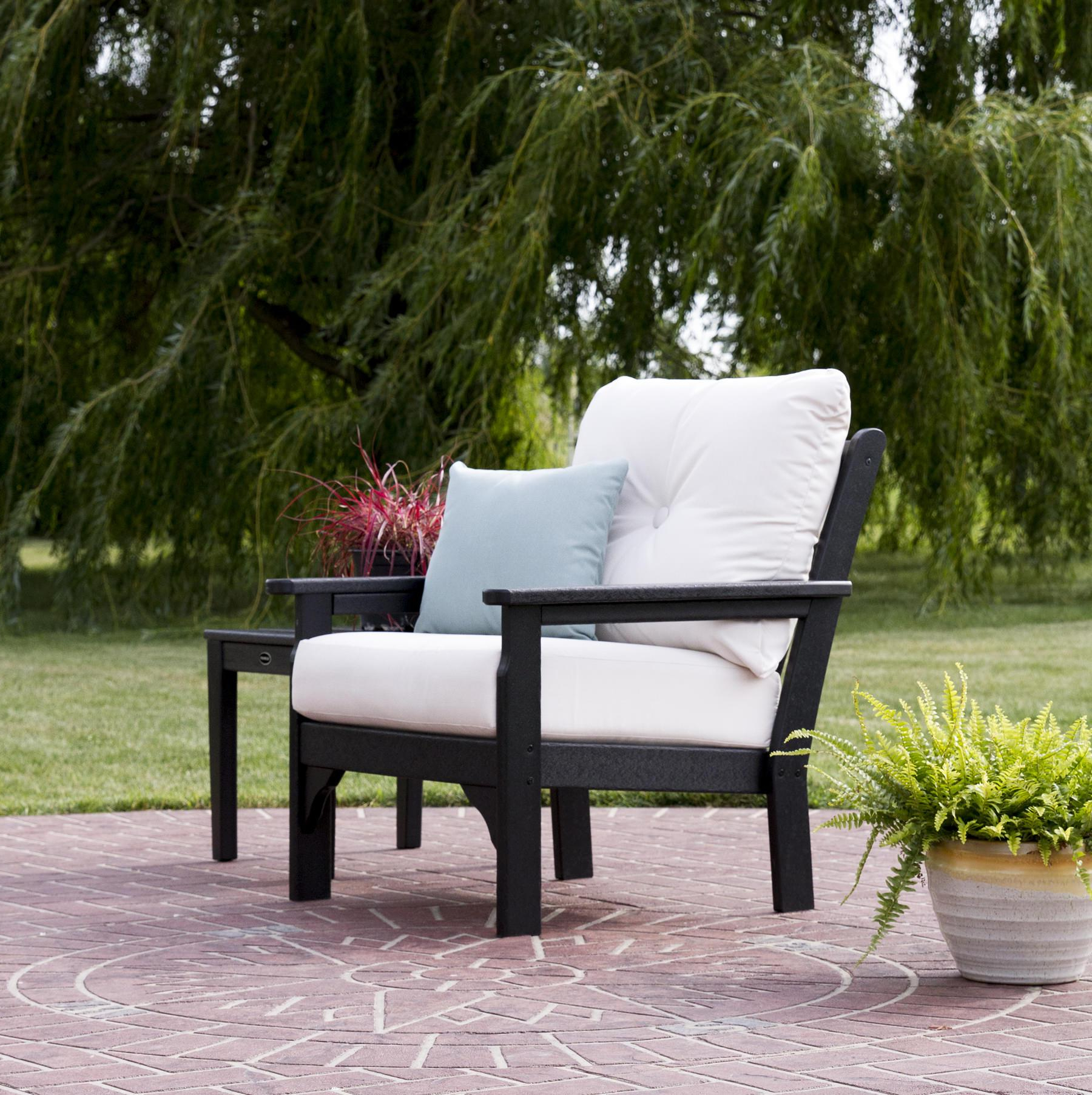 Polywood® Vineyard Deep Seating Chair Pertaining To Preferred Vineyard Deep Seating Sofas (View 17 of 20)
