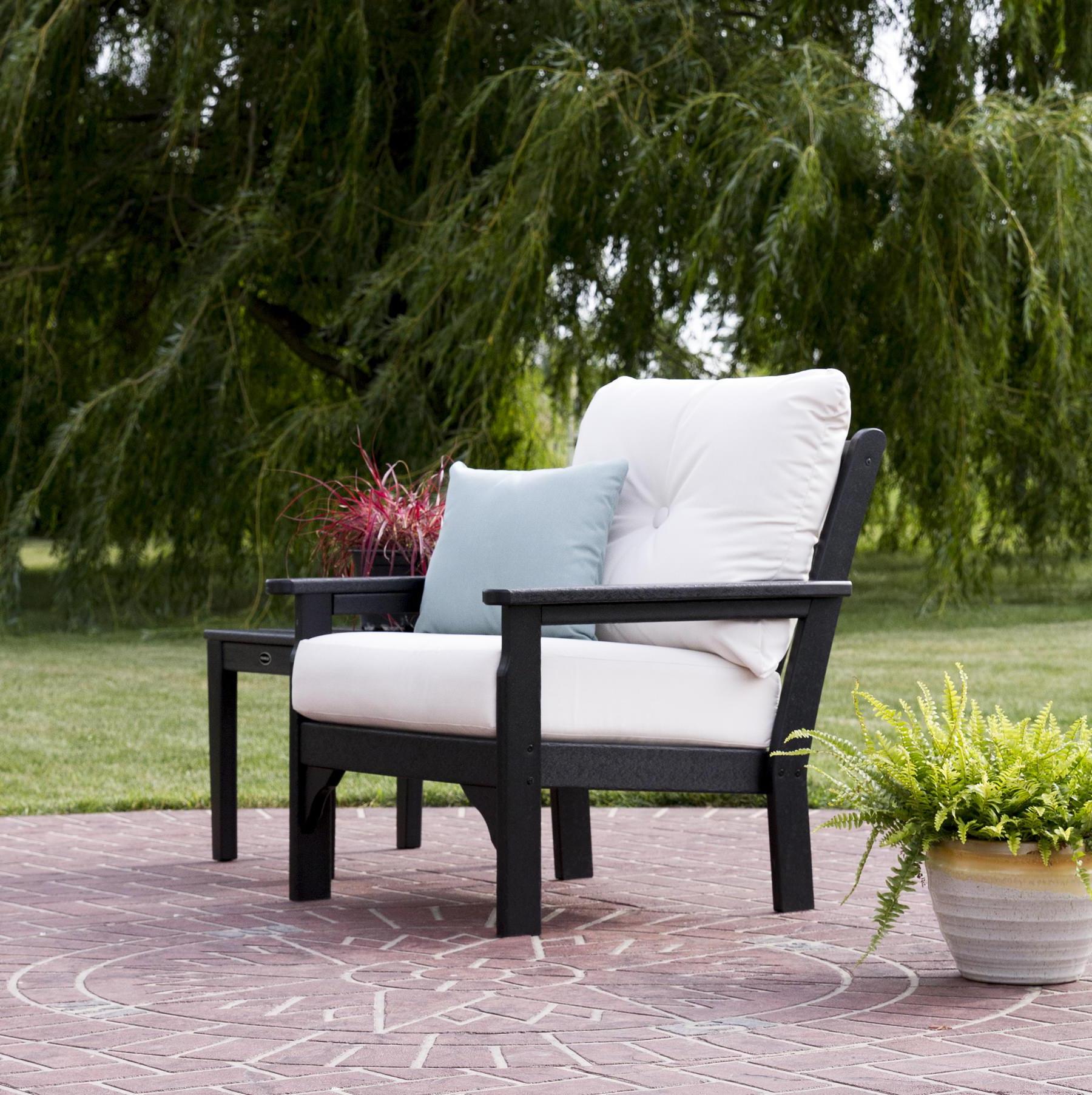 Polywood® Vineyard Deep Seating Chair Pertaining To Preferred Vineyard Deep Seating Sofas (View 11 of 20)