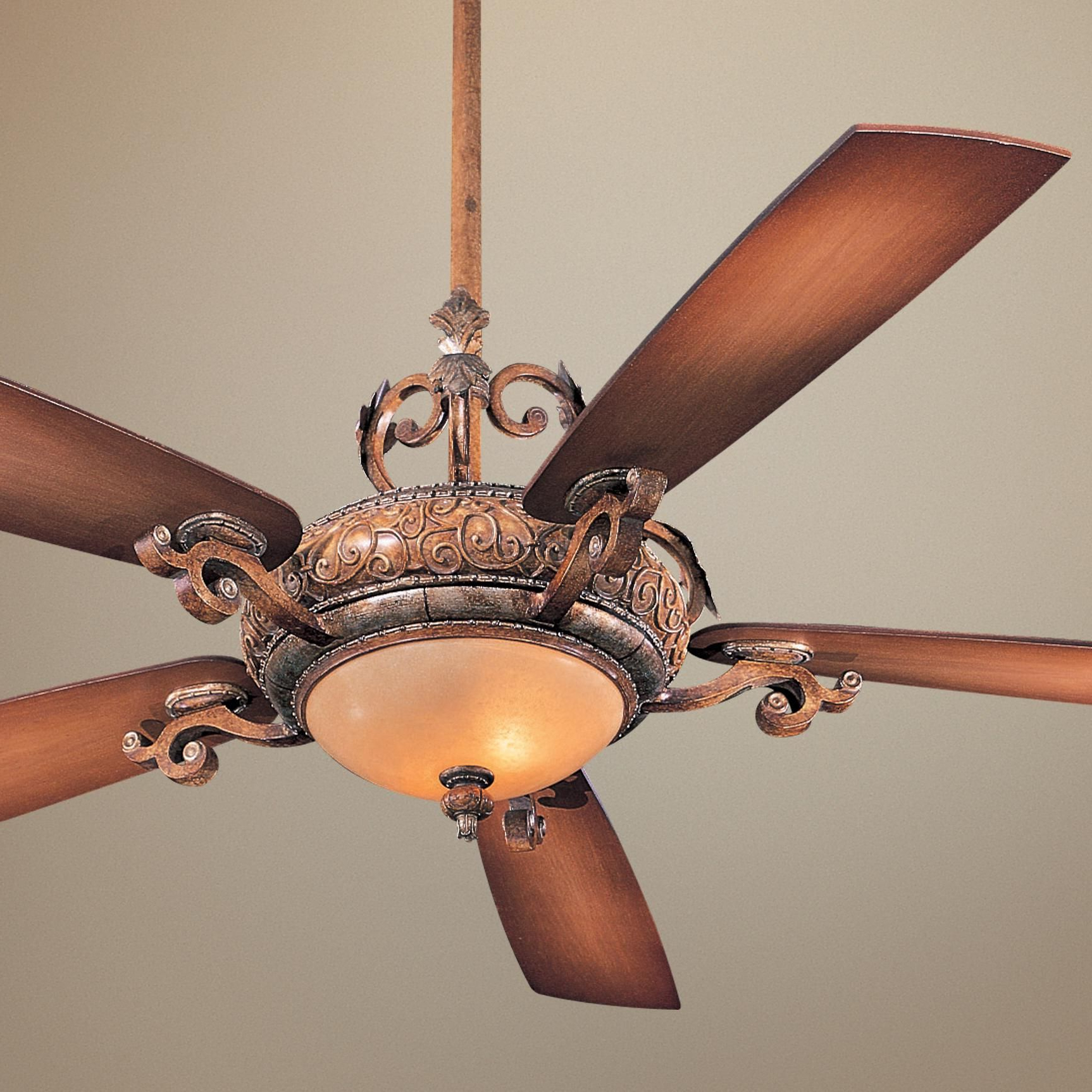 "Popular 68"" Napoli Ii Tuscan Patina Finish Ceiling Fan – $569 With Regard To Napoli 5 Blade Led Ceiling Fans (View 2 of 20)"