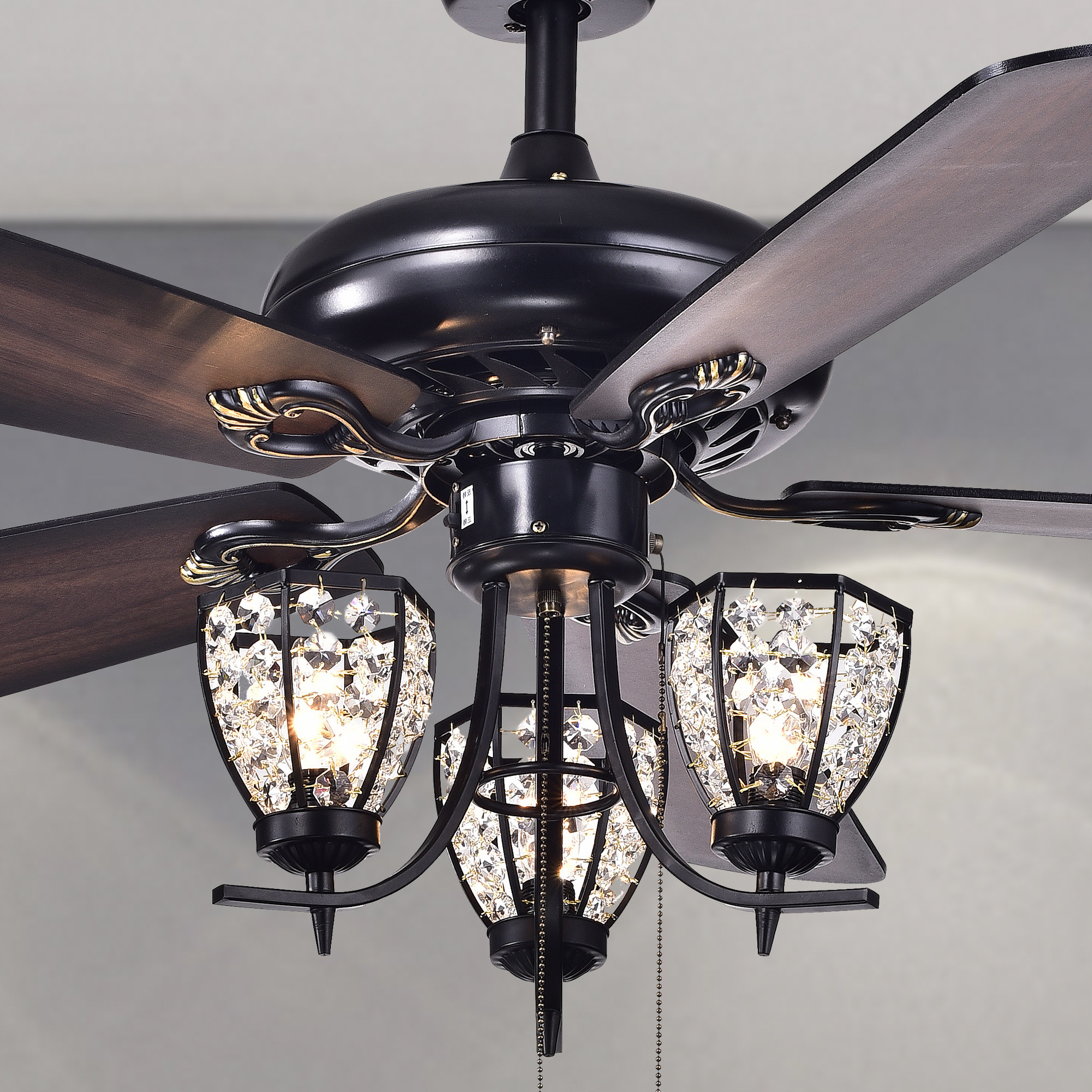 Popular Dunaghy 5 Blade Ceiling Fans In 5 Blade Ceiling Fan, Light Kit Included (View 14 of 20)