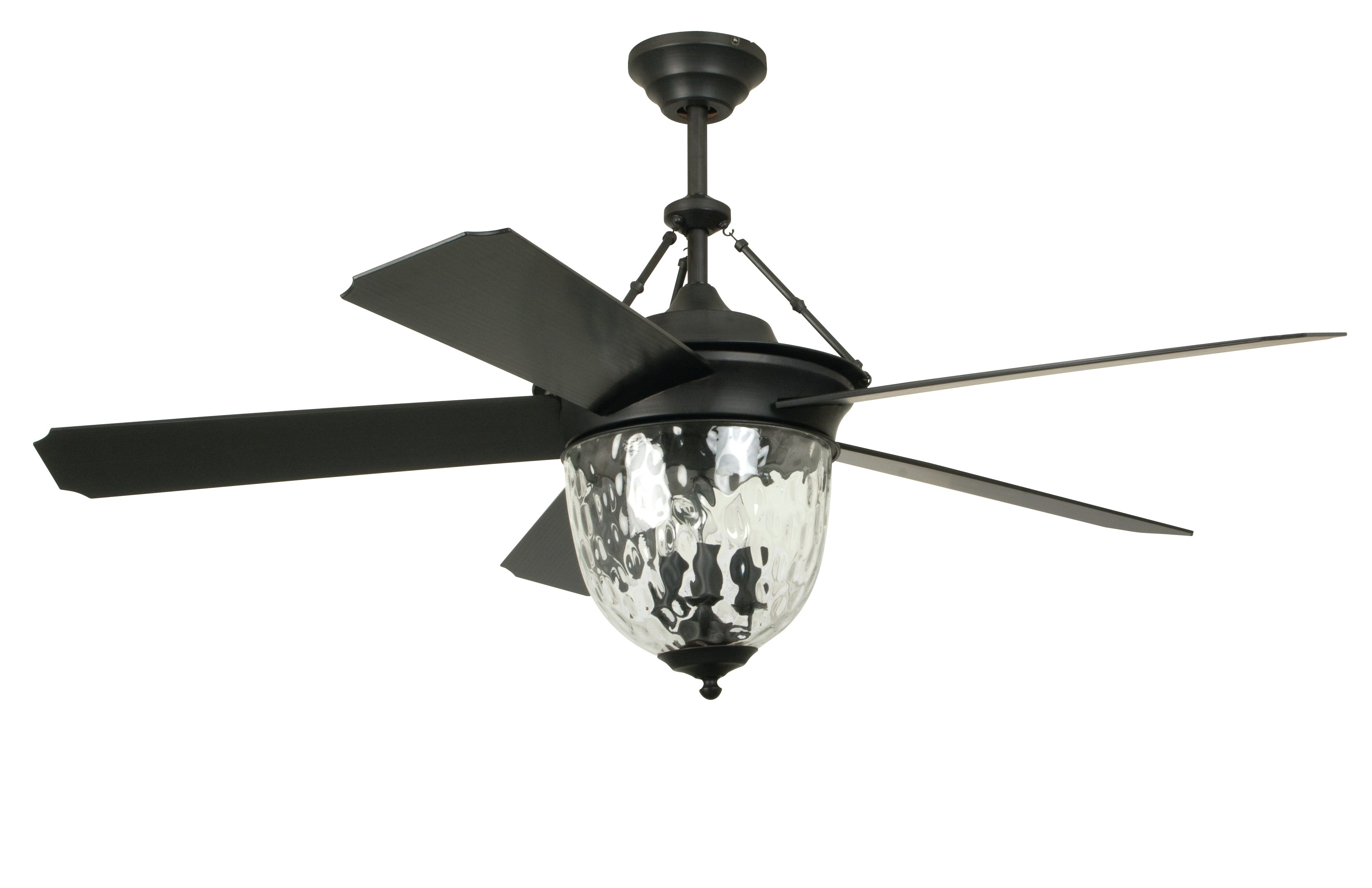"Popular Dunaghy 5 Blade Ceiling Fans Inside 52"" Fairmead 5 Blade Ceiling Fan With Wall Remote (Gallery 7 of 20)"