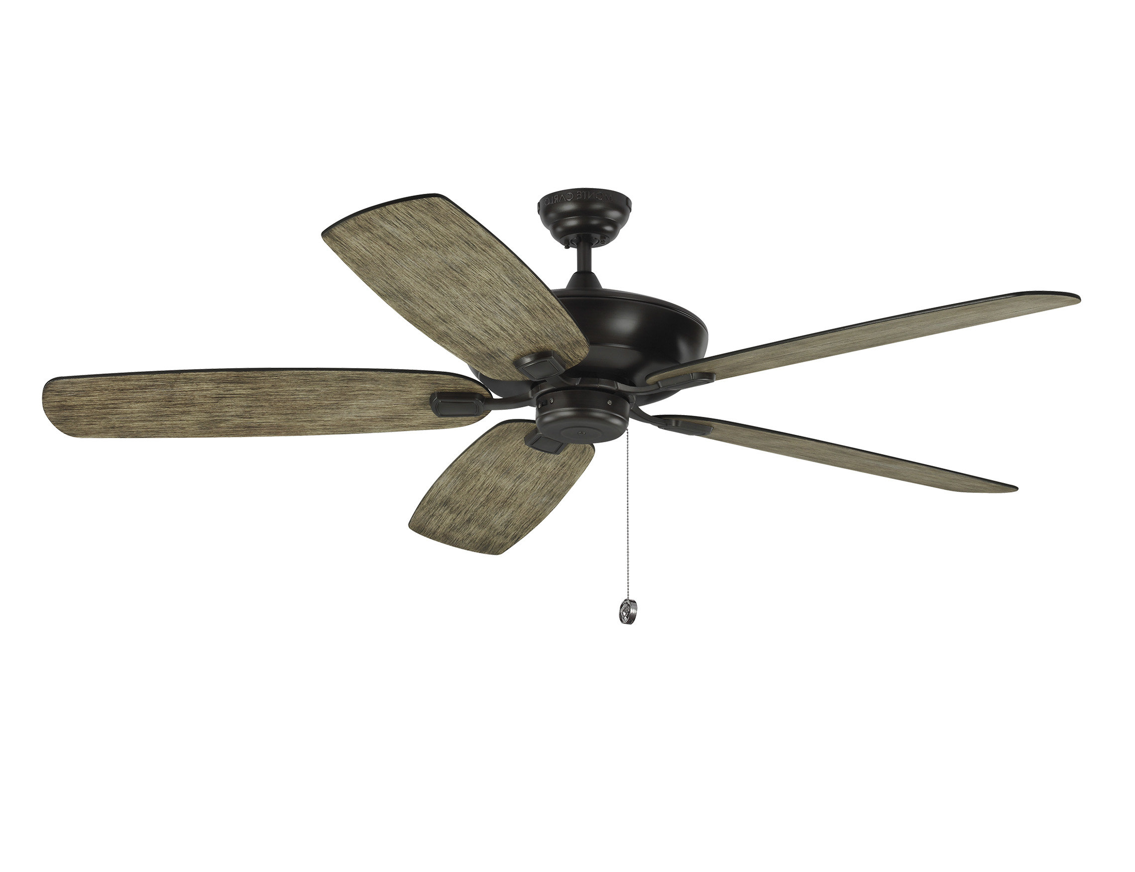 """Popular Ravenna 5 Blade Ceiling Fans In Whisenant 60"""" Colony Super Max 5 Blade Led Ceiling Fan (View 16 of 20)"""