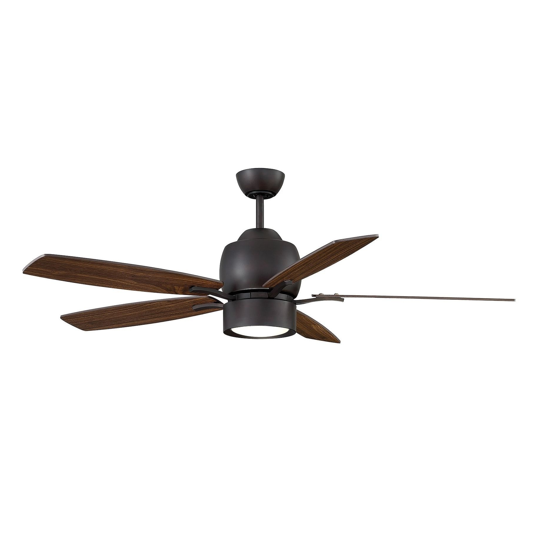 Popular Savoy House Girard Bronze Finished Metal (grey) 52 Inch 5 In Clybourn 5 Blade Ceiling Fans (View 6 of 20)