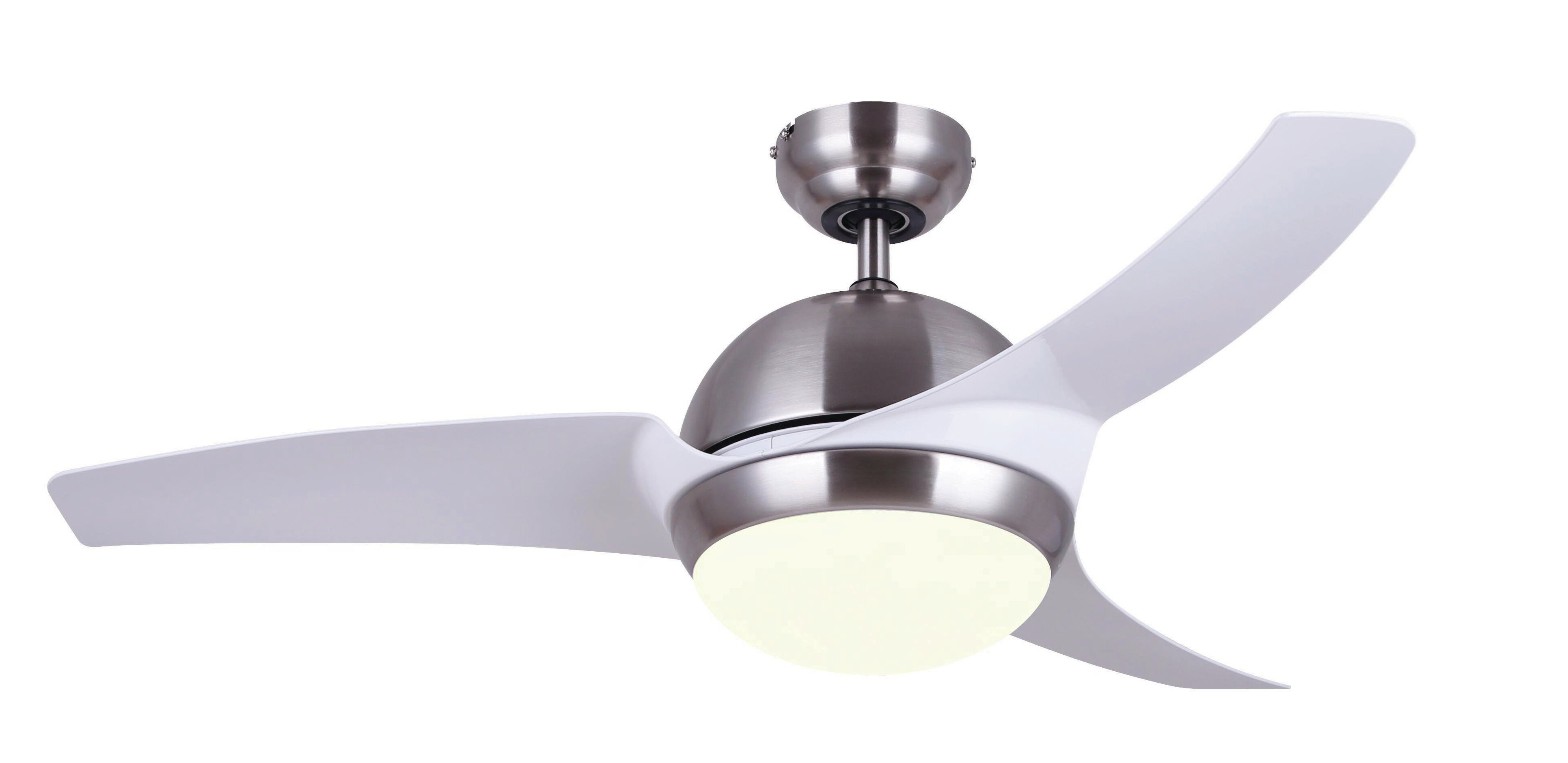 """Preferred 42"""" Kester 3 Blade Led Ceiling Fan With Remote, Light Kit Included In Bernabe 3 Blade Ceiling Fans (View 17 of 20)"""