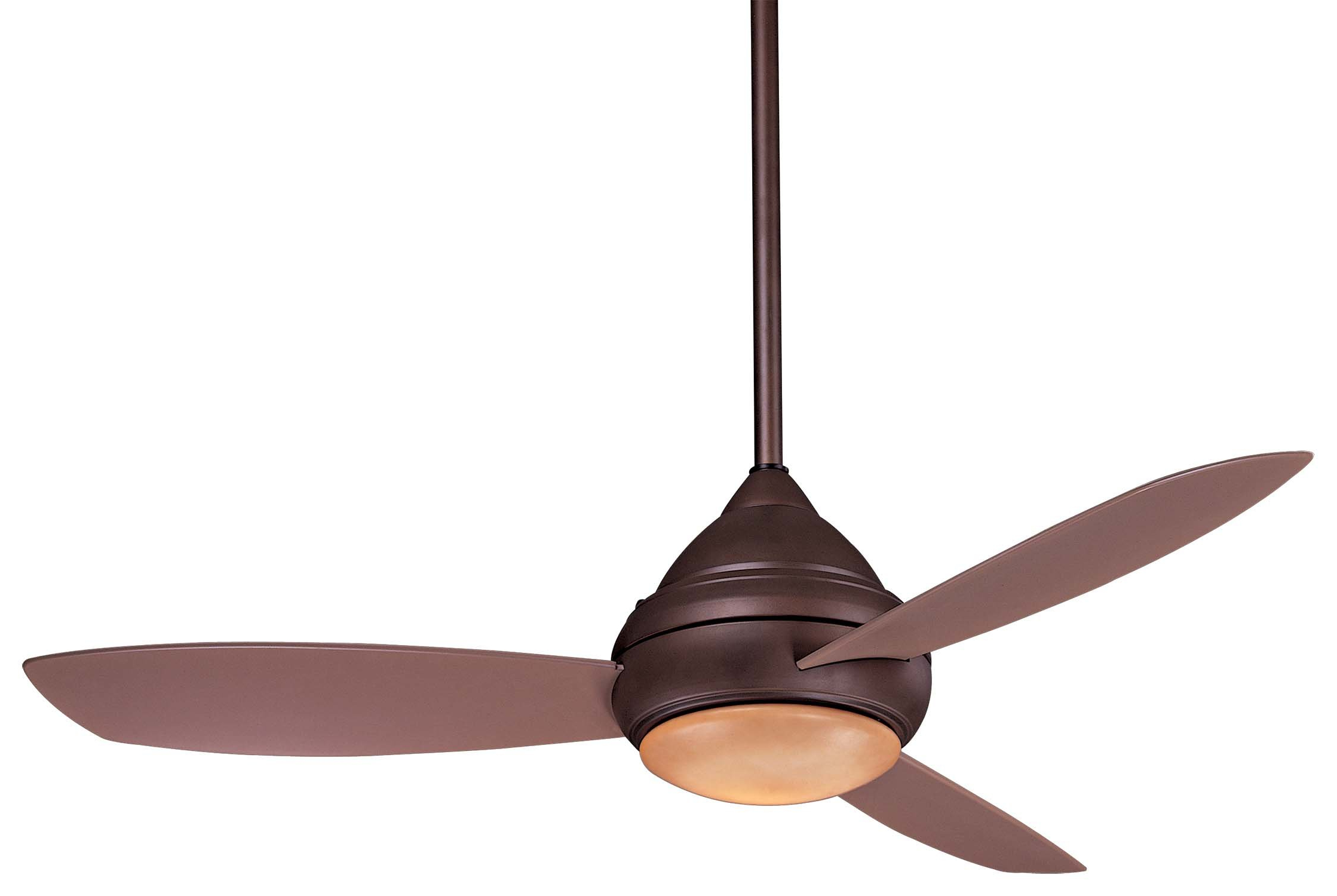 "Preferred 52"" Concept™ I Wet Led 3 Blade Outdoor Ceiling Fan Inside Concept 3 Blade Led Ceiling Fans (View 17 of 20)"