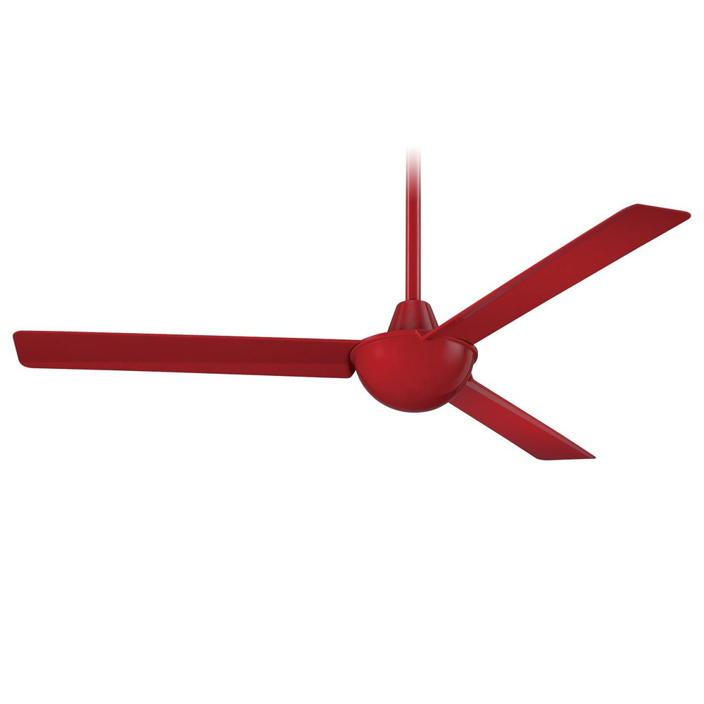 Preferred 52 Inch Minka Aire Kewl Ceiling Fan – F833 Rd Flashy Red Pertaining To Kewl 3 Blade Ceiling Fans (View 4 of 20)