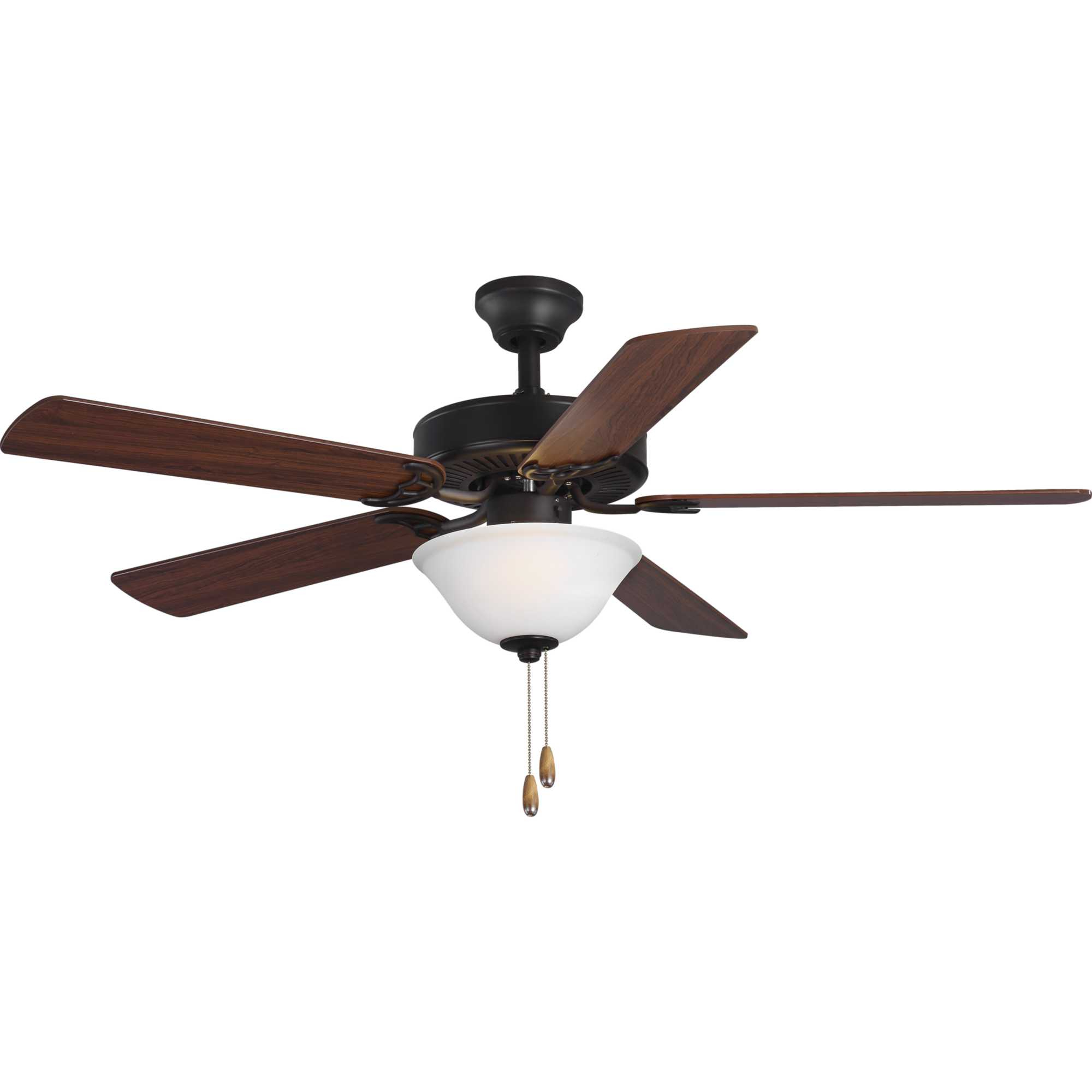 "Preferred Builder 5 Blade Ceiling Fans Pertaining To Details About Progress Lighting Builder 52 Builder 52"" 5 Blade Indoor  Ceiling Fan – Light Kit (View 20 of 20)"