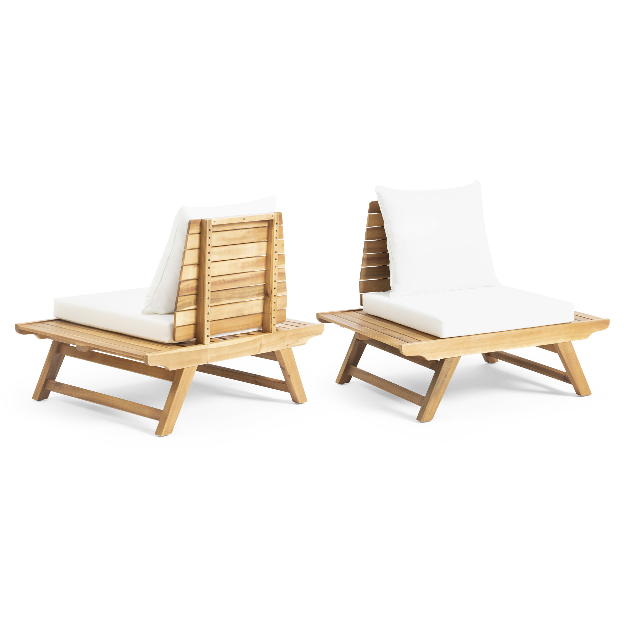 Preferred Bullock Outdoor Wooden Loveseats With Cushions Inside Bullock Outdoor Patio Chair With Cushions (View 8 of 20)