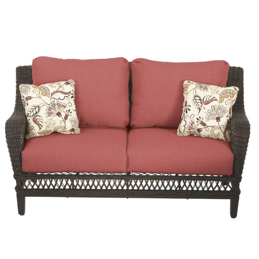 Preferred Calvin Patio Loveseats With Cushions For Patio Loveseat – Home Decor Ideas – Editorial Ink (View 17 of 20)