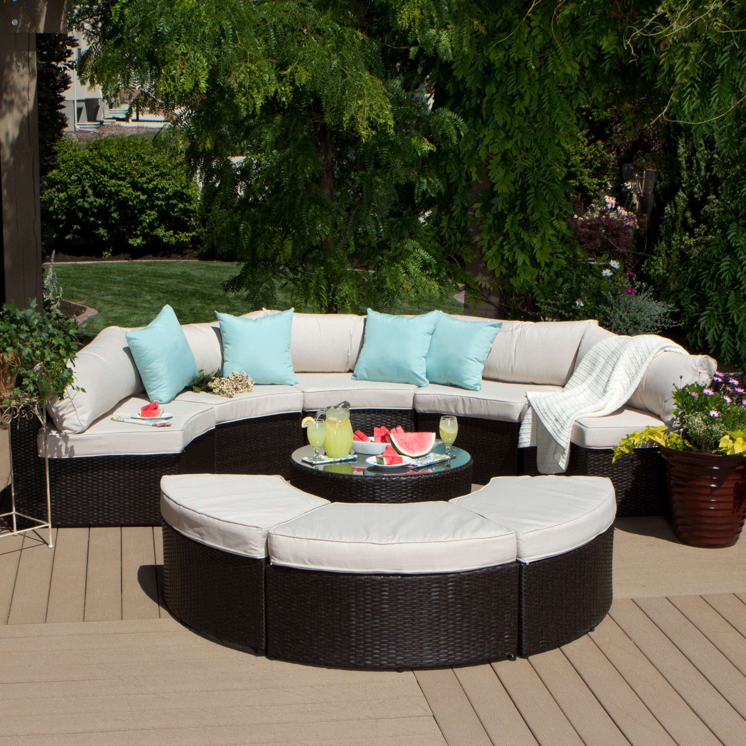 Preferred Discount Outdoor Sectional – Budapestsightseeing Pertaining To Ellison Patio Sectionals With Cushions (View 17 of 20)