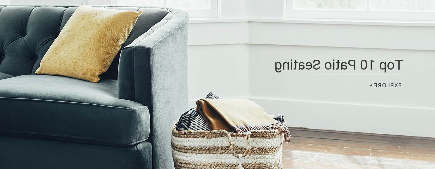 Preferred Ellison Patio Sectionals With Cushions Regarding How To Use Cheapest Wayfair 's Small Space Patio Sale To (View 18 of 20)
