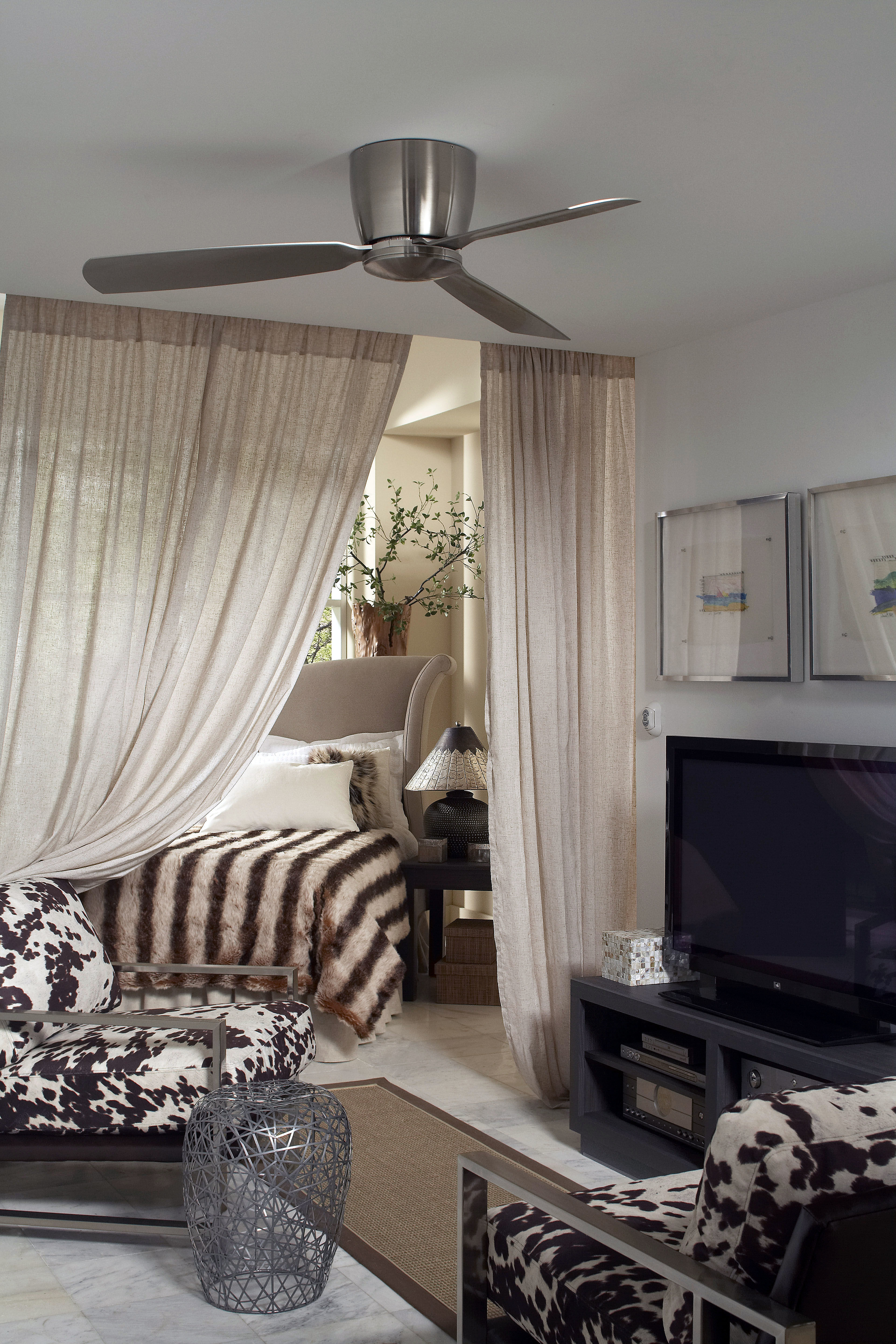 Preferred Fanimation Fps7955 Throughout Embrace 3 Blade Ceiling Fans (View 16 of 20)