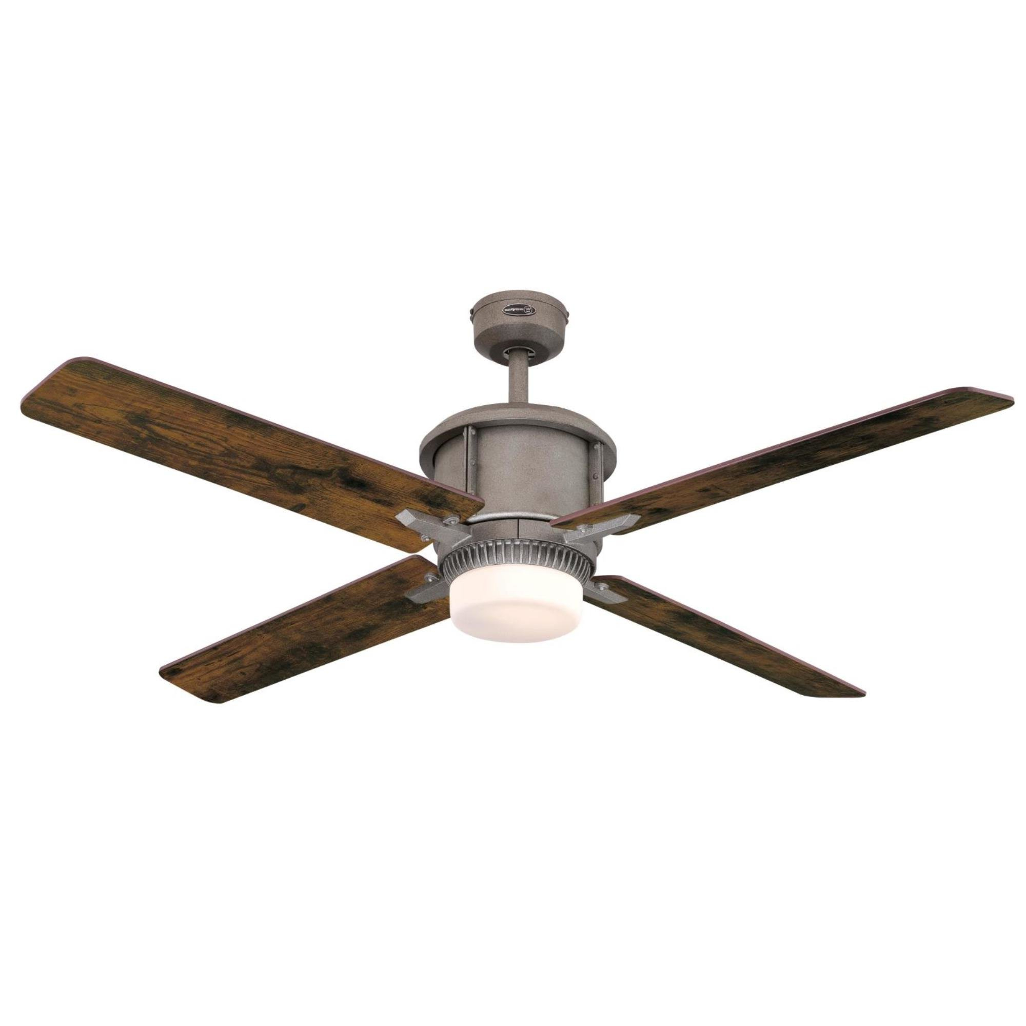 Preferred Industrial Style Light Kit Included Ceiling Fans You'll Love Throughout Calkins 5 Blade Ceiling Fans (View 13 of 20)