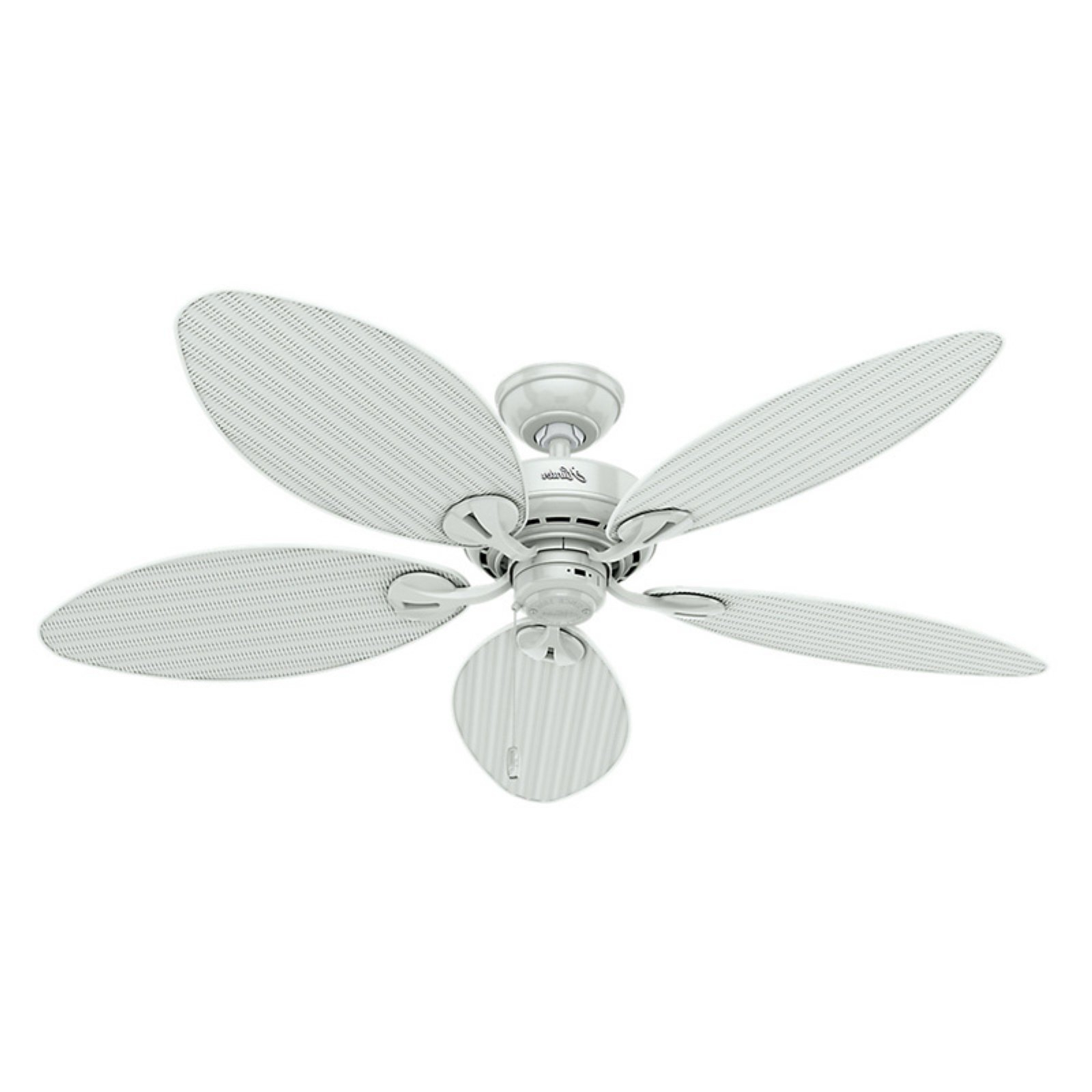 Preferred Kalea 5 Blade Outdoor Ceiling Fans Intended For Hunter Bayview 54 In (View 11 of 20)