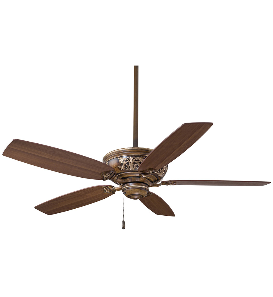 Preferred Minka Aire – F659 Bcw – Classica 54 Inch Belcaro Walnut Ceiling Fan Within Classica 5 Blade Ceiling Fans (View 18 of 20)