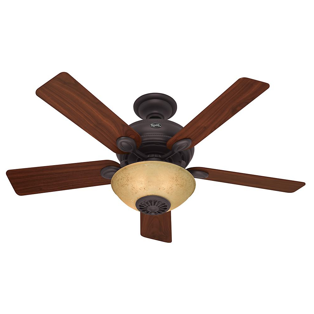"Preferred Norah 5 Blade Ceiling Fans Intended For 52"" Ceiling Fan With Light And Remote : (View 7 of 20)"